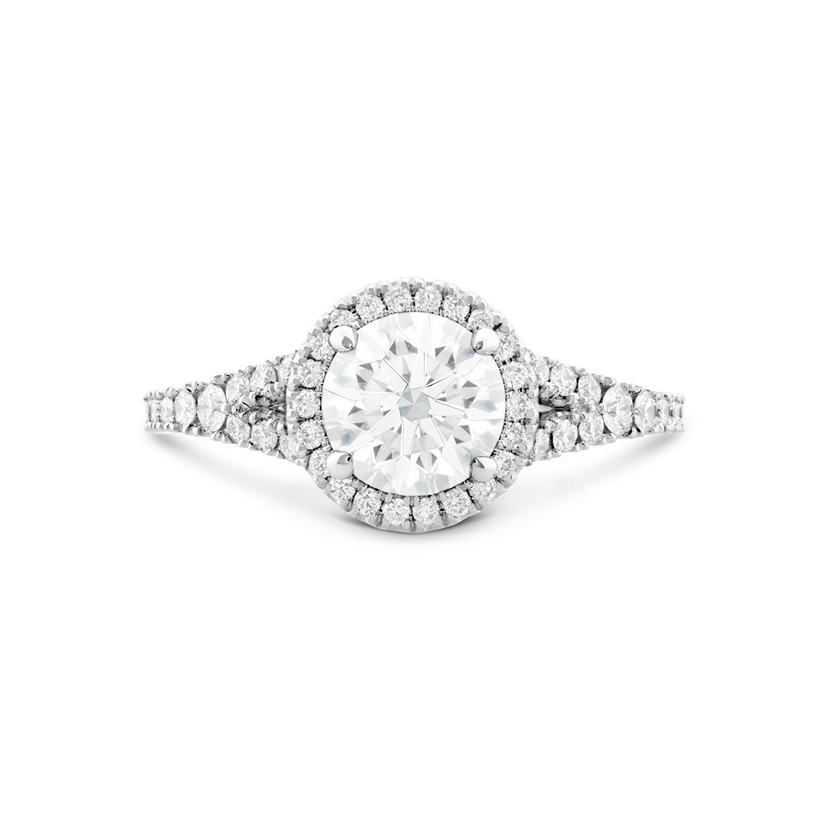 New Hearts On Fire® 2.696 CTW Diamond Transcend Premier Engagement Ring