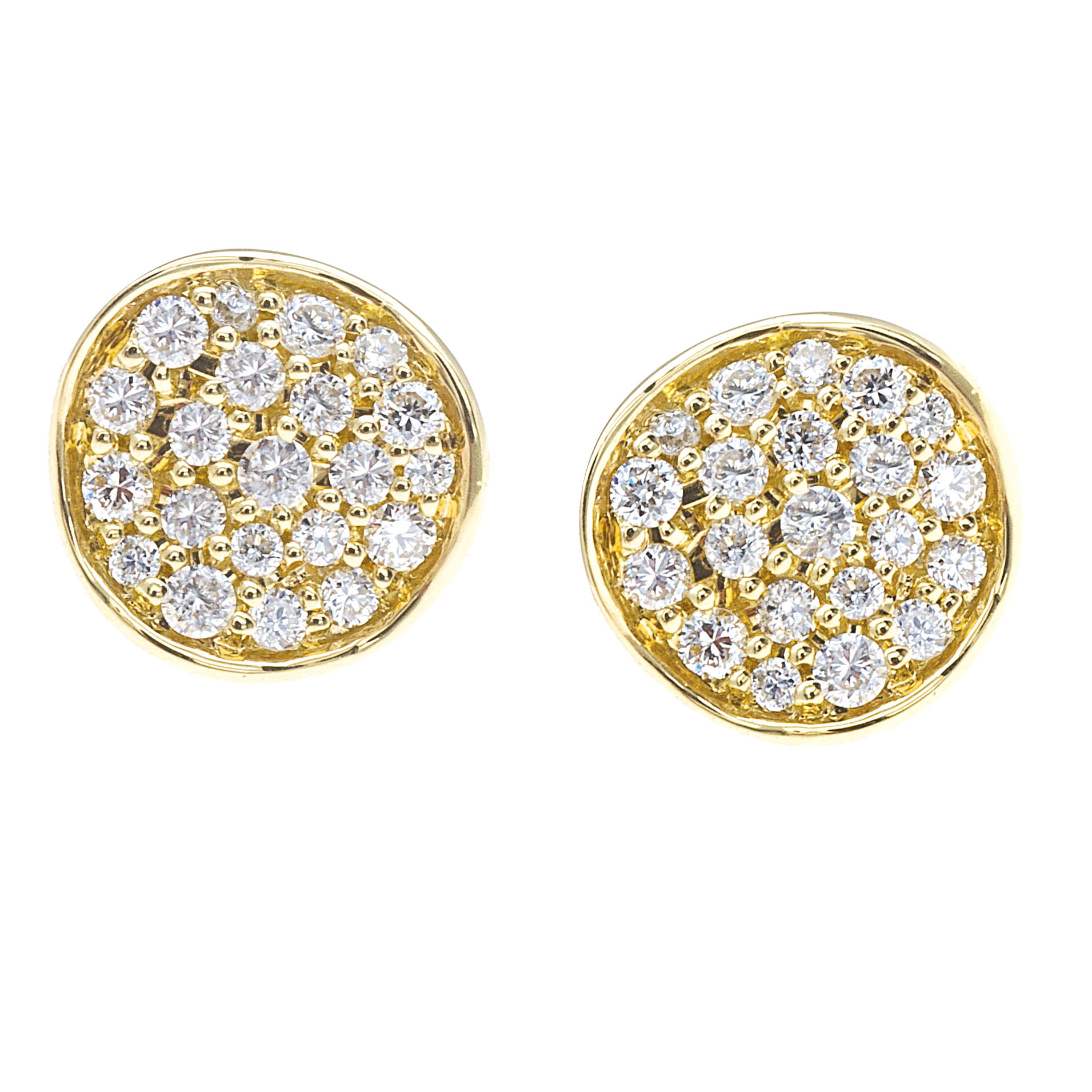 Ippolita Stardust Mini Diamond Stud Earrings 3JUIWgA