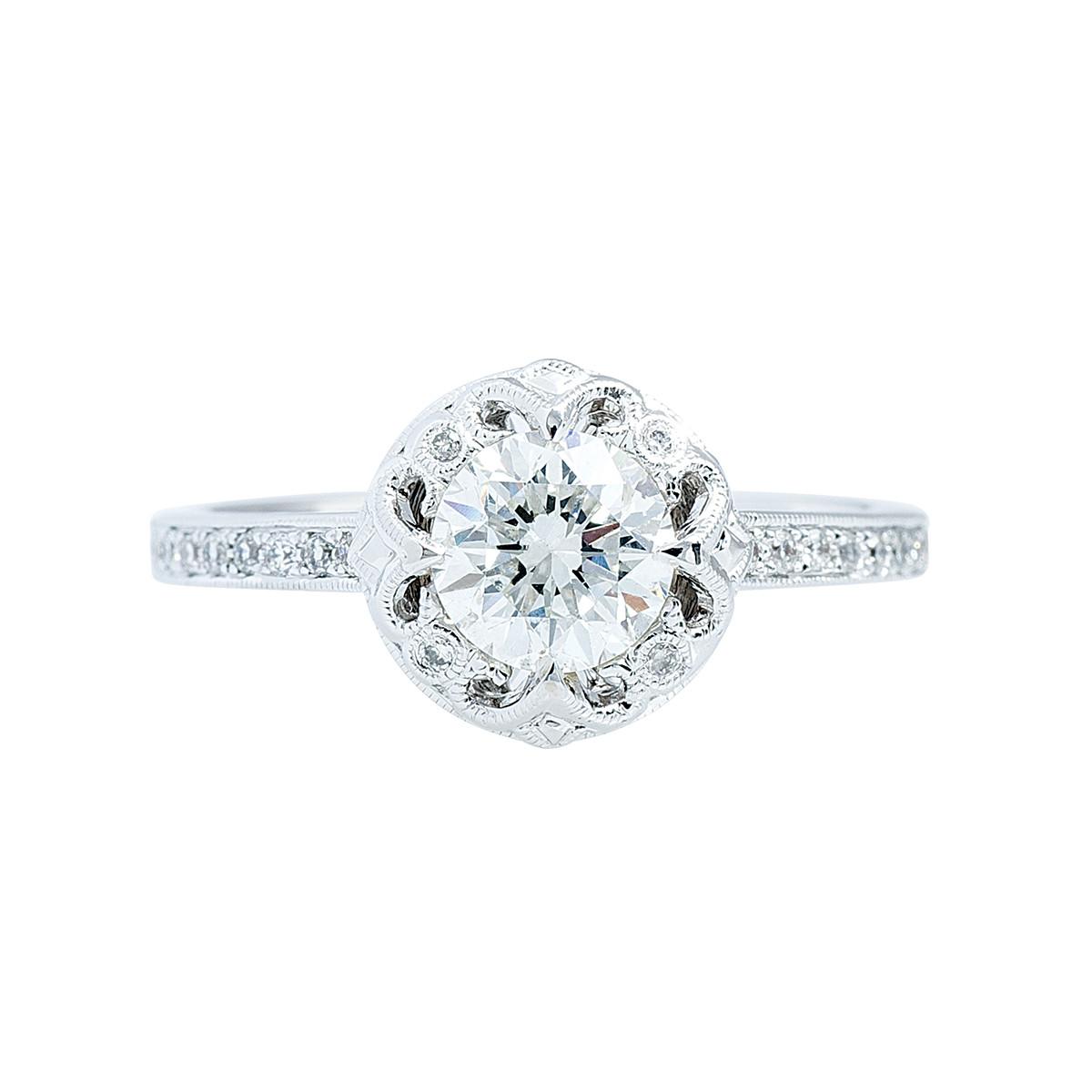 New Beverly K. 0.15 CTW Diamond Setting