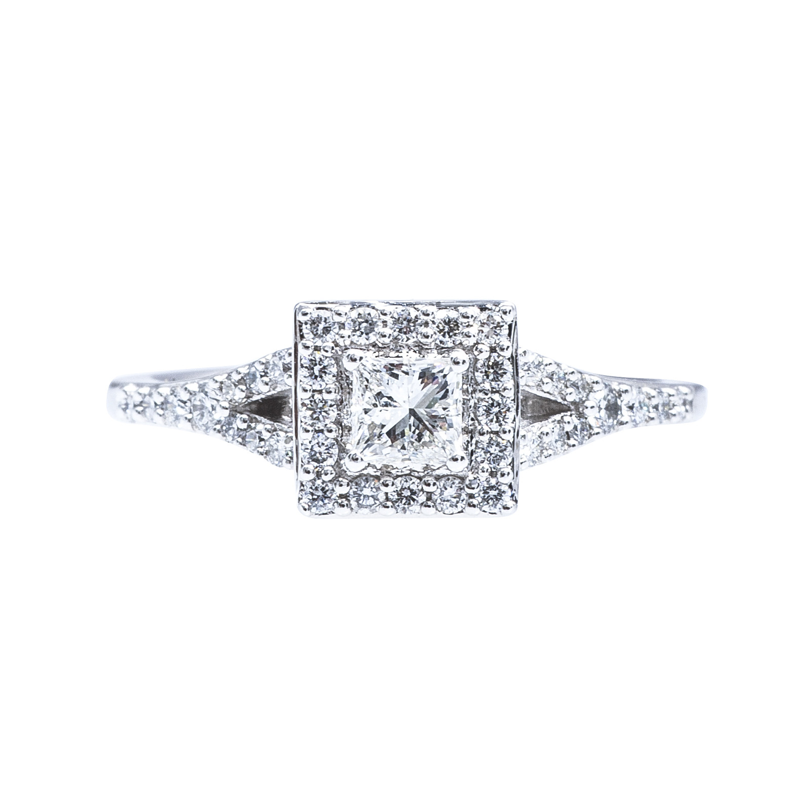 New 0.53 CTW Diamond Engagement Ring