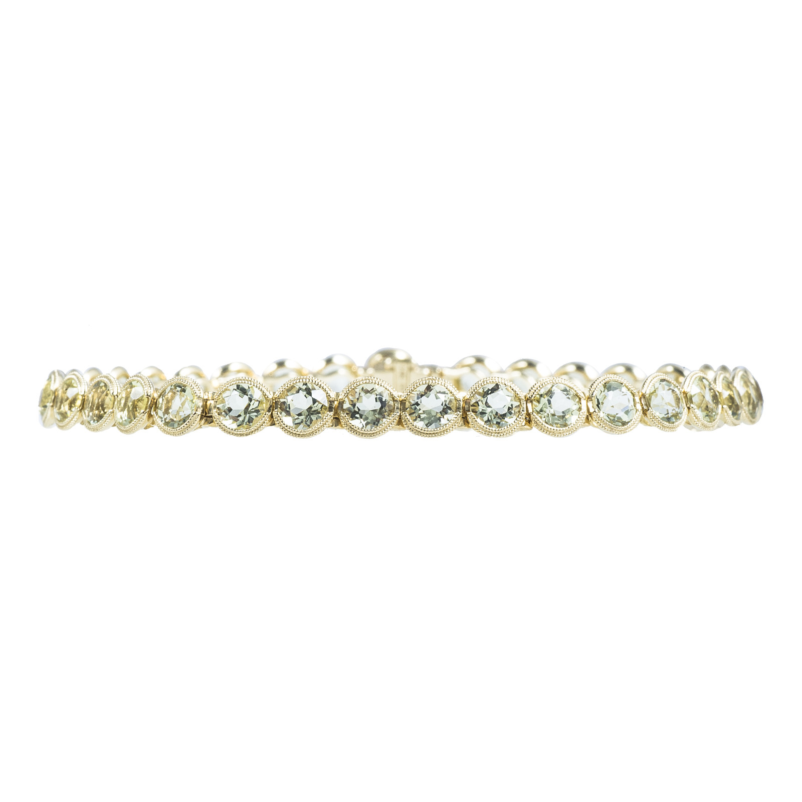 New 8.50 CTW Lemon Quartz Bracelet