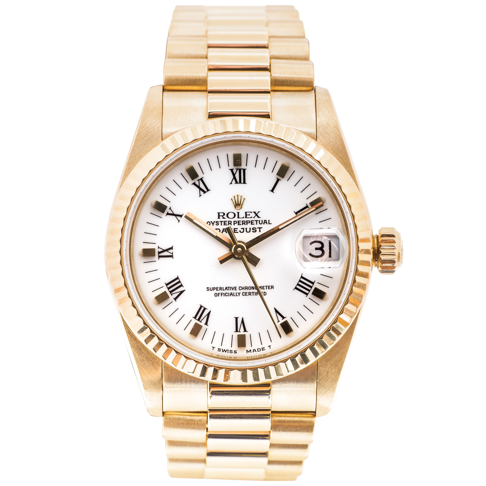 Pre-Owned Midsize Rolex Datejust President