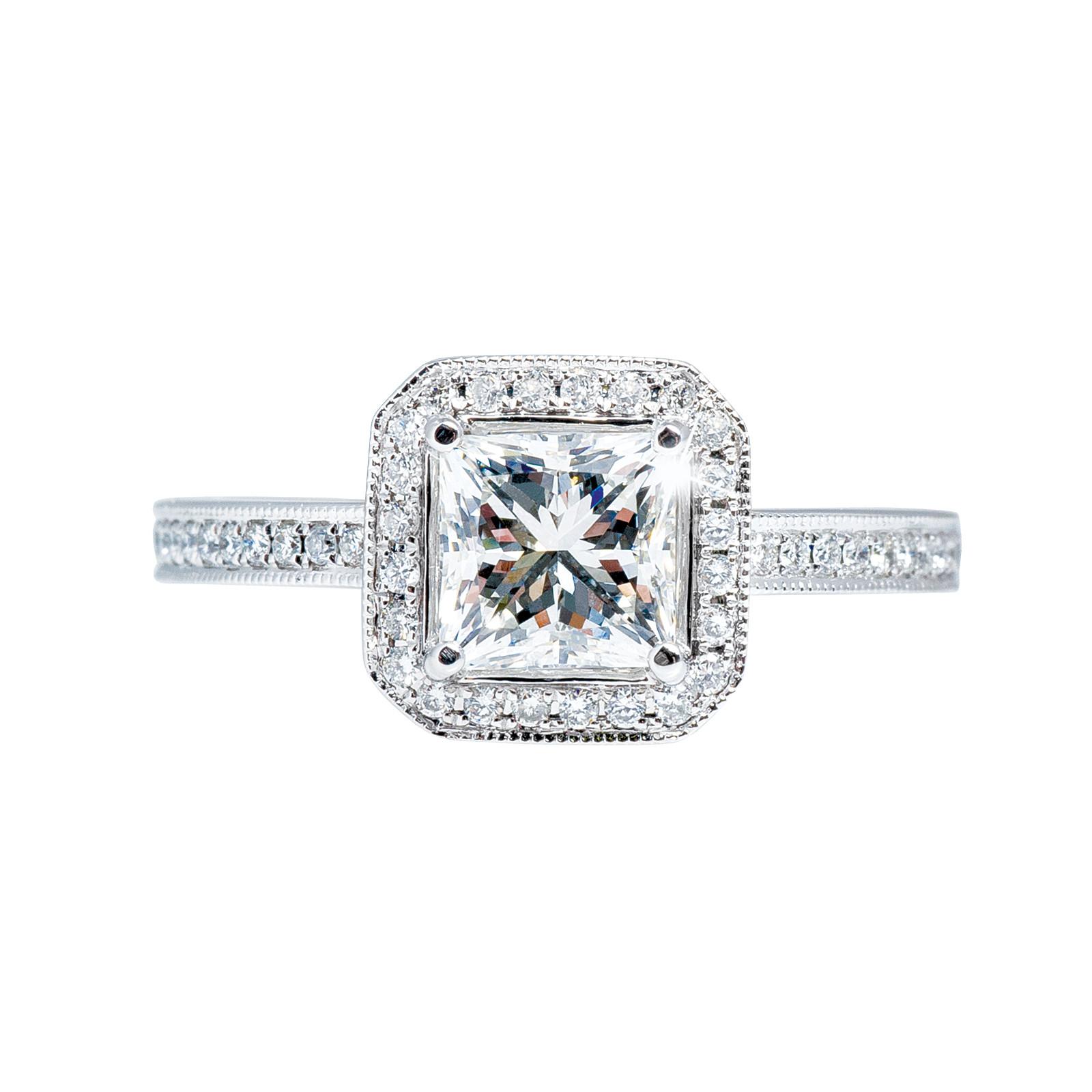 New Venetti 1.49 ctw Diamond Engagement Ring