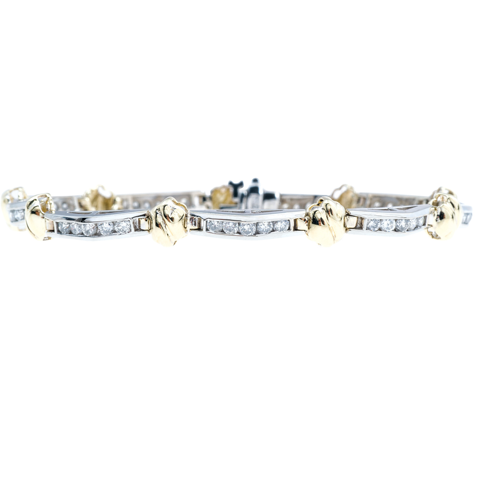 Vintage 1.80 CTW Diamond Bracelet