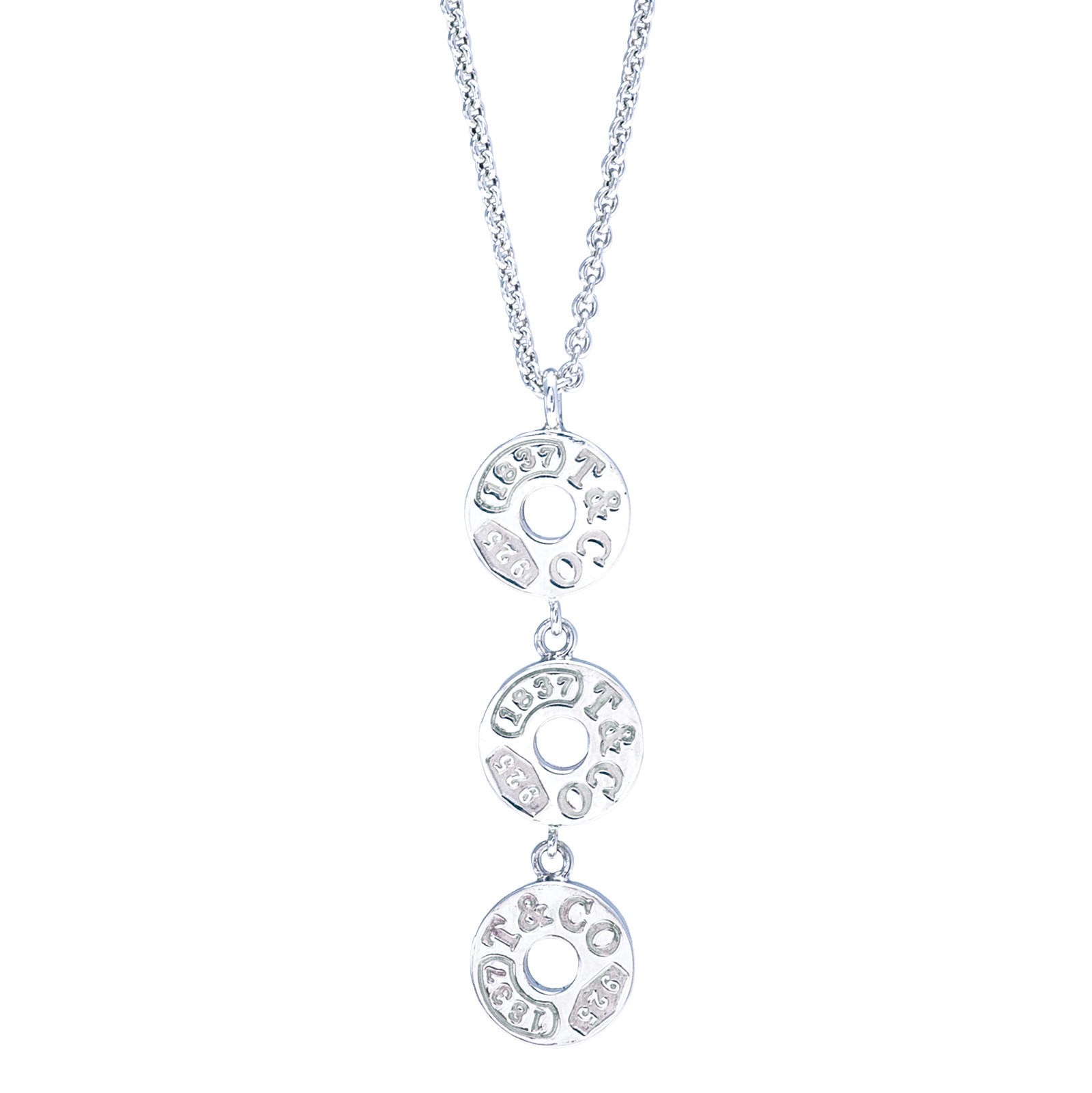 Vintage Tiffany & Co. 1837 Circle Necklace