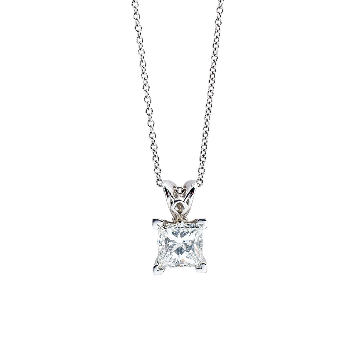 New 1.18 CT Diamond Pendant