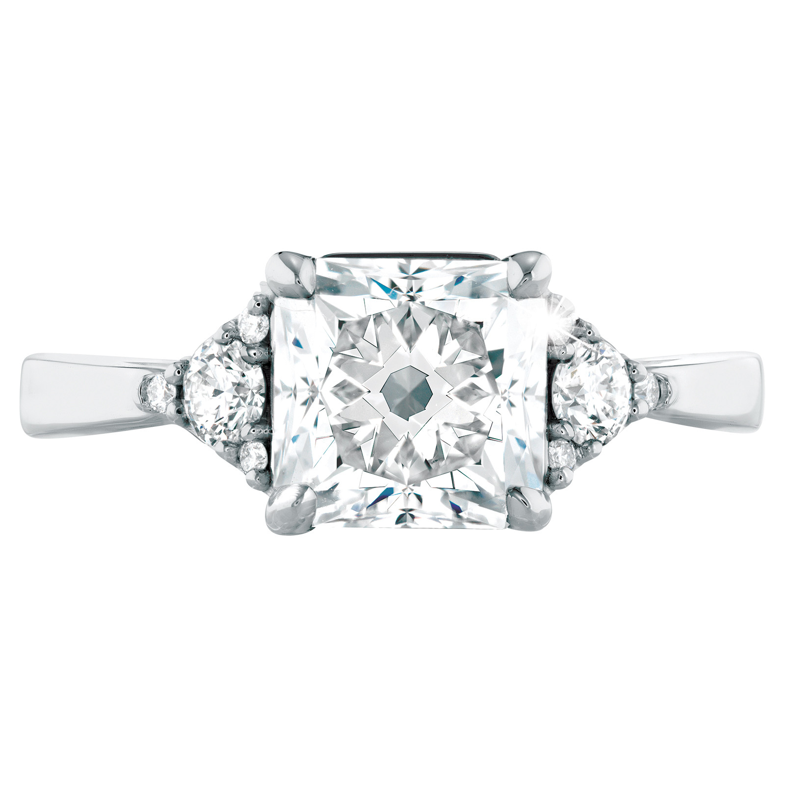 New Hearts On Fire® Triplicity Dream 1.798 CTW Diamond Engagement Ring