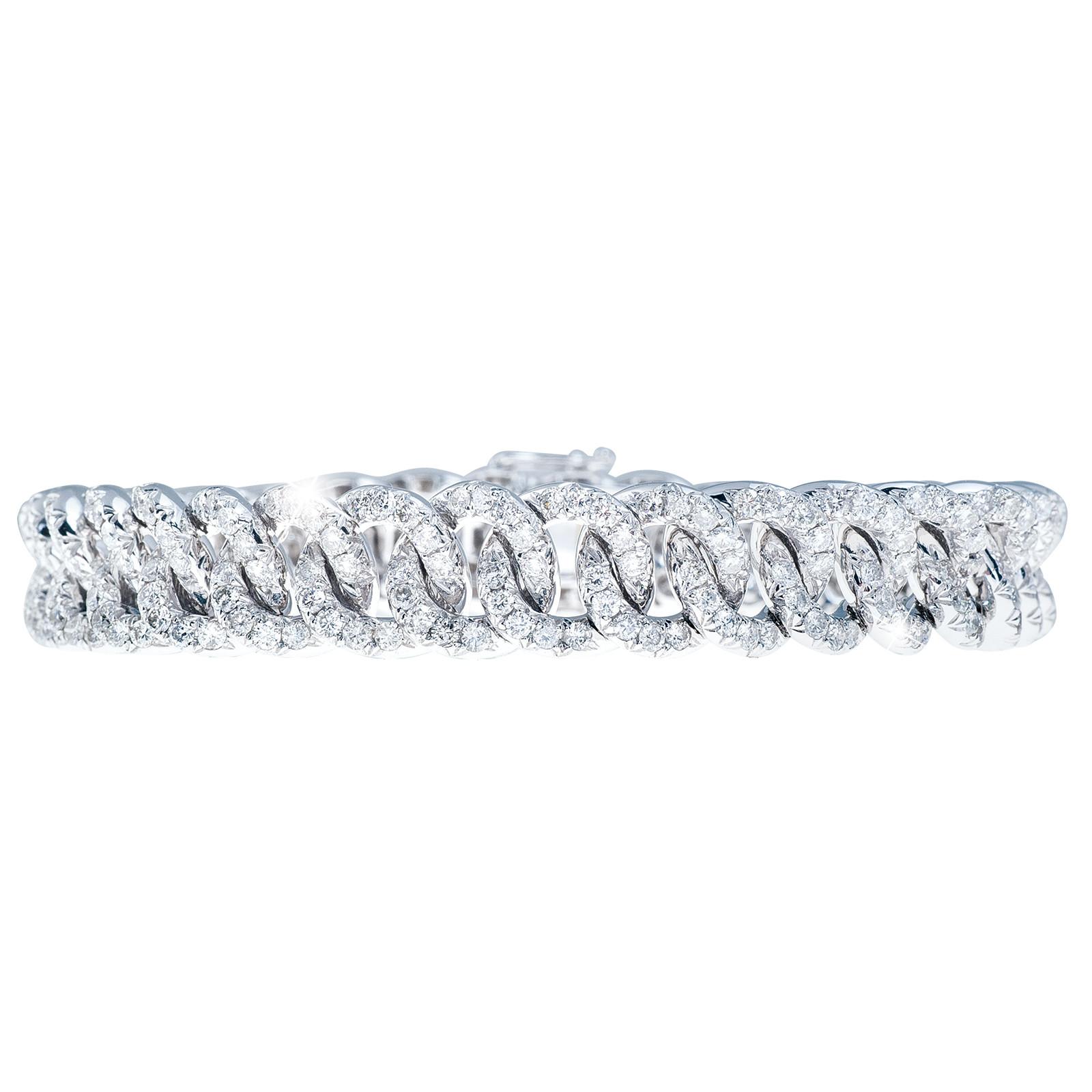 New 7.39 CTW Diamond Bracelet