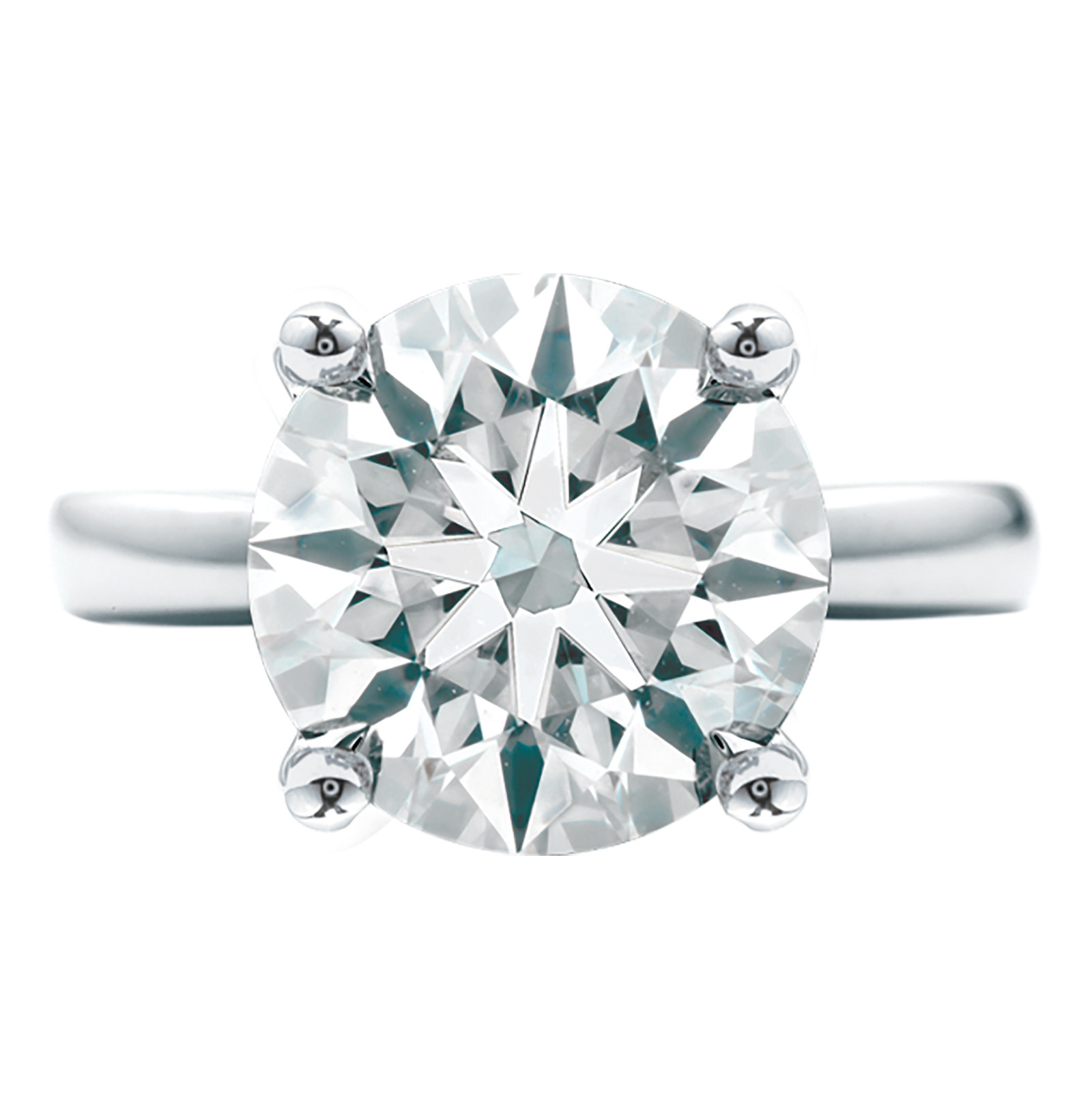 New Hearts On Fire® Serenity Select Complete 3.28 CT Diamond Solitaire