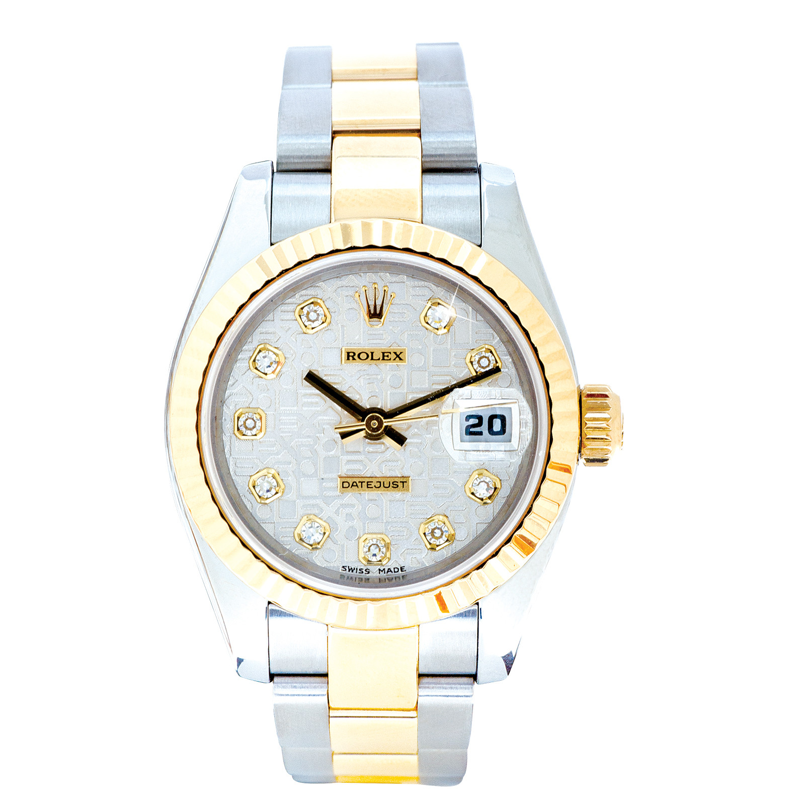 Pre-Owned Women's Rolex Datejust 18K & SS