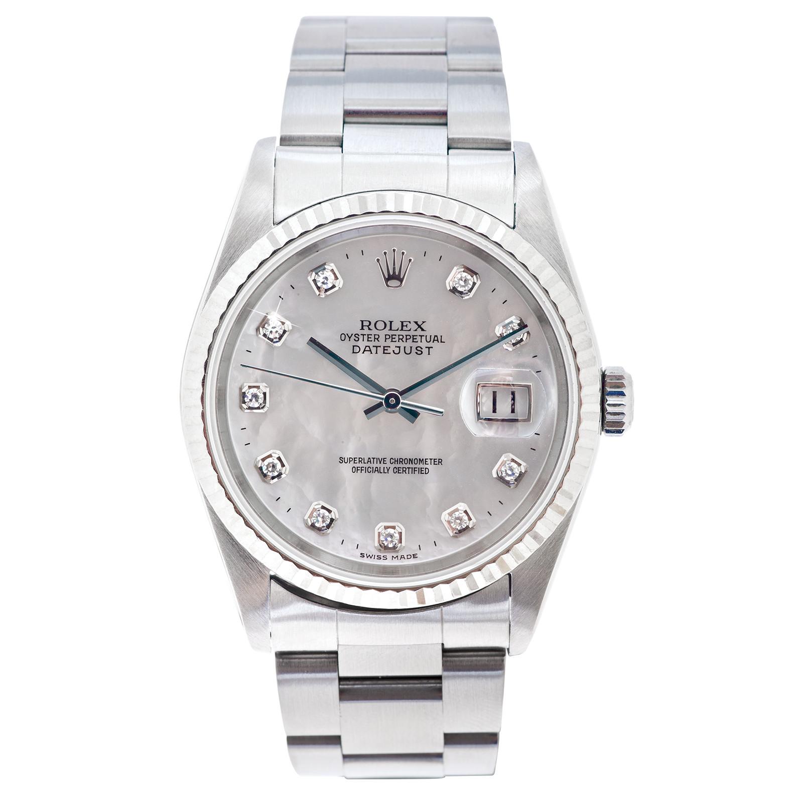 Pre-Owned Men's Rolex Datejust