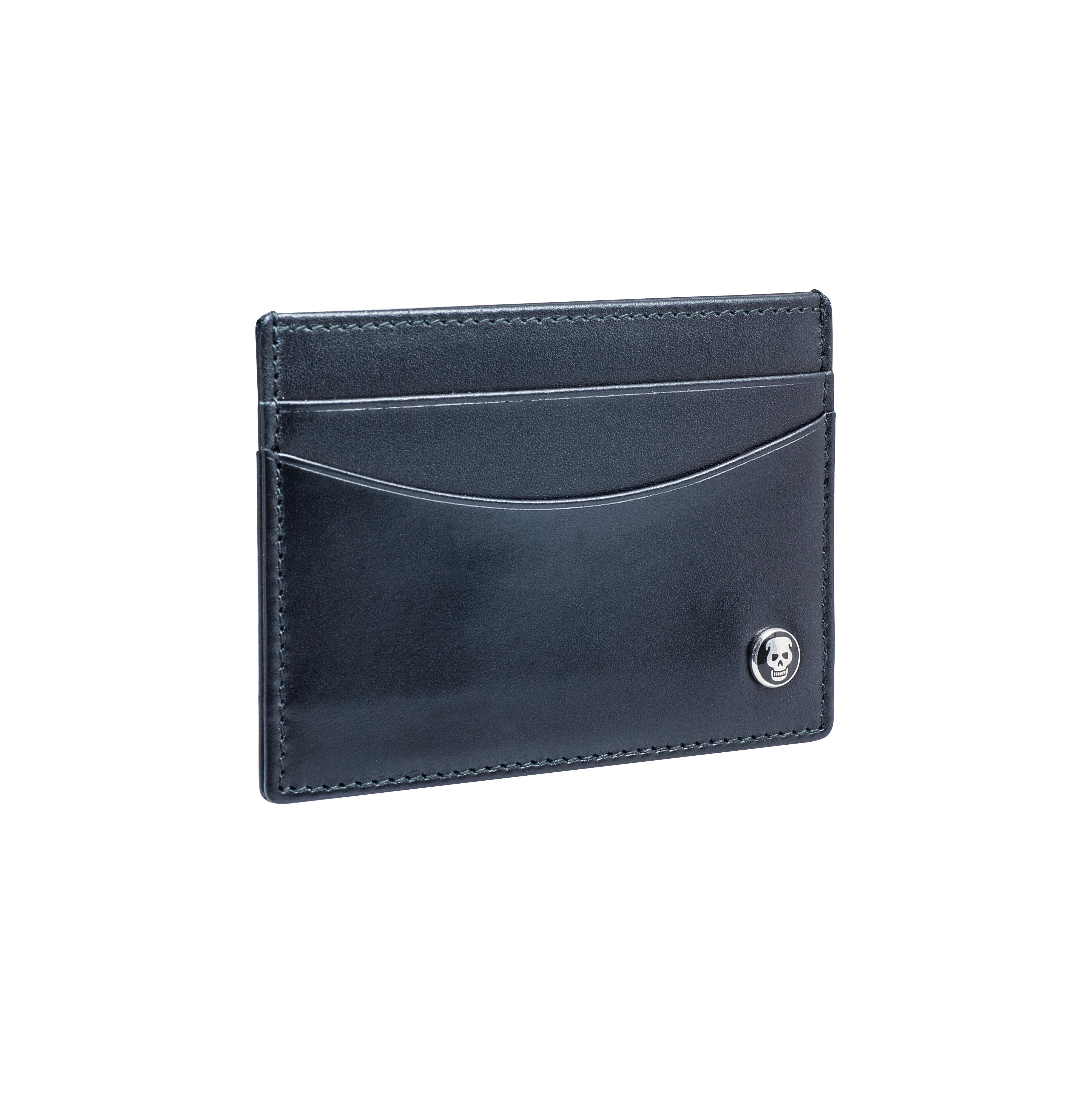 New Deakin & Francis Black Leather Credit Card Wallet