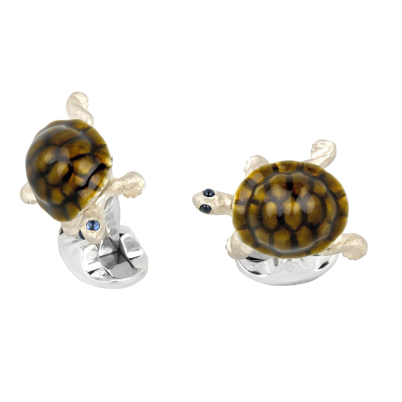 New Deakin & Francis Tortoise Cufflinks