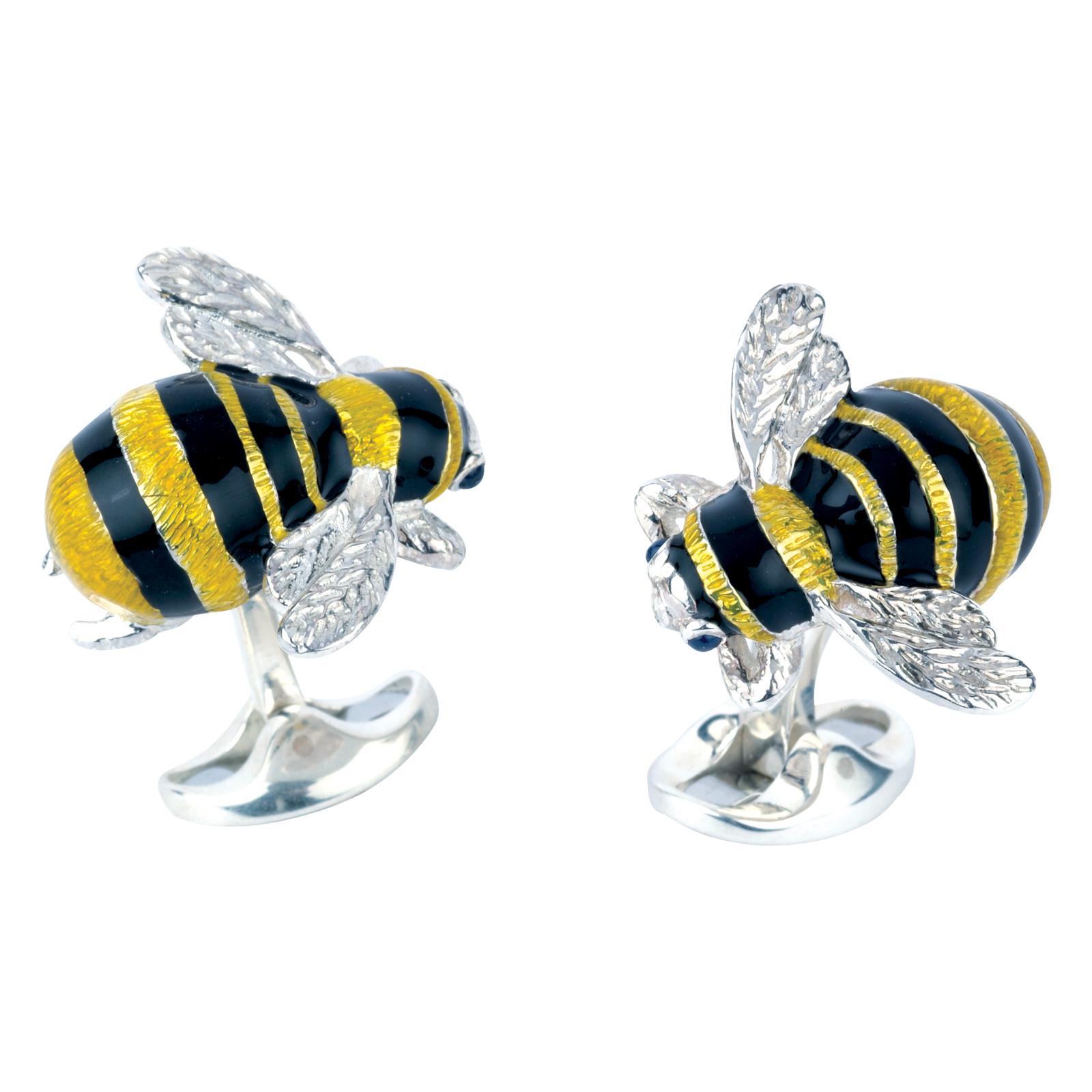 New Deakin & Francis Bumble Bee Cufflinks