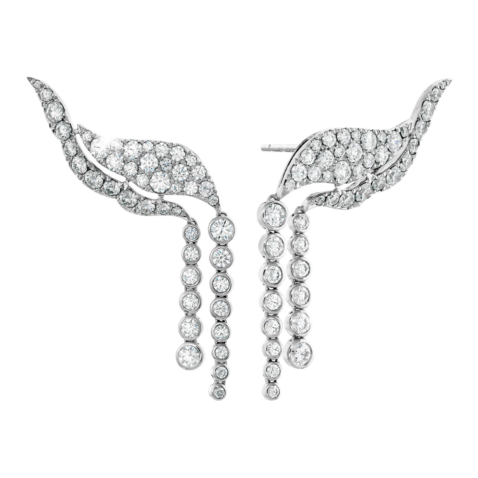 New Hearts On Fire® 3.00 CTW Diamond Lorelei Fringe Earrings