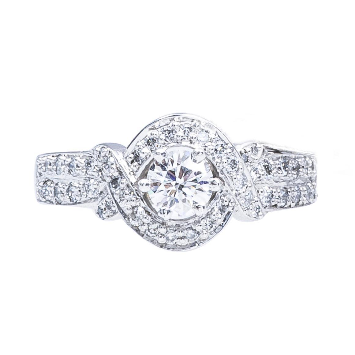 Vintage 0.71 CTW Diamond Engagment Ring