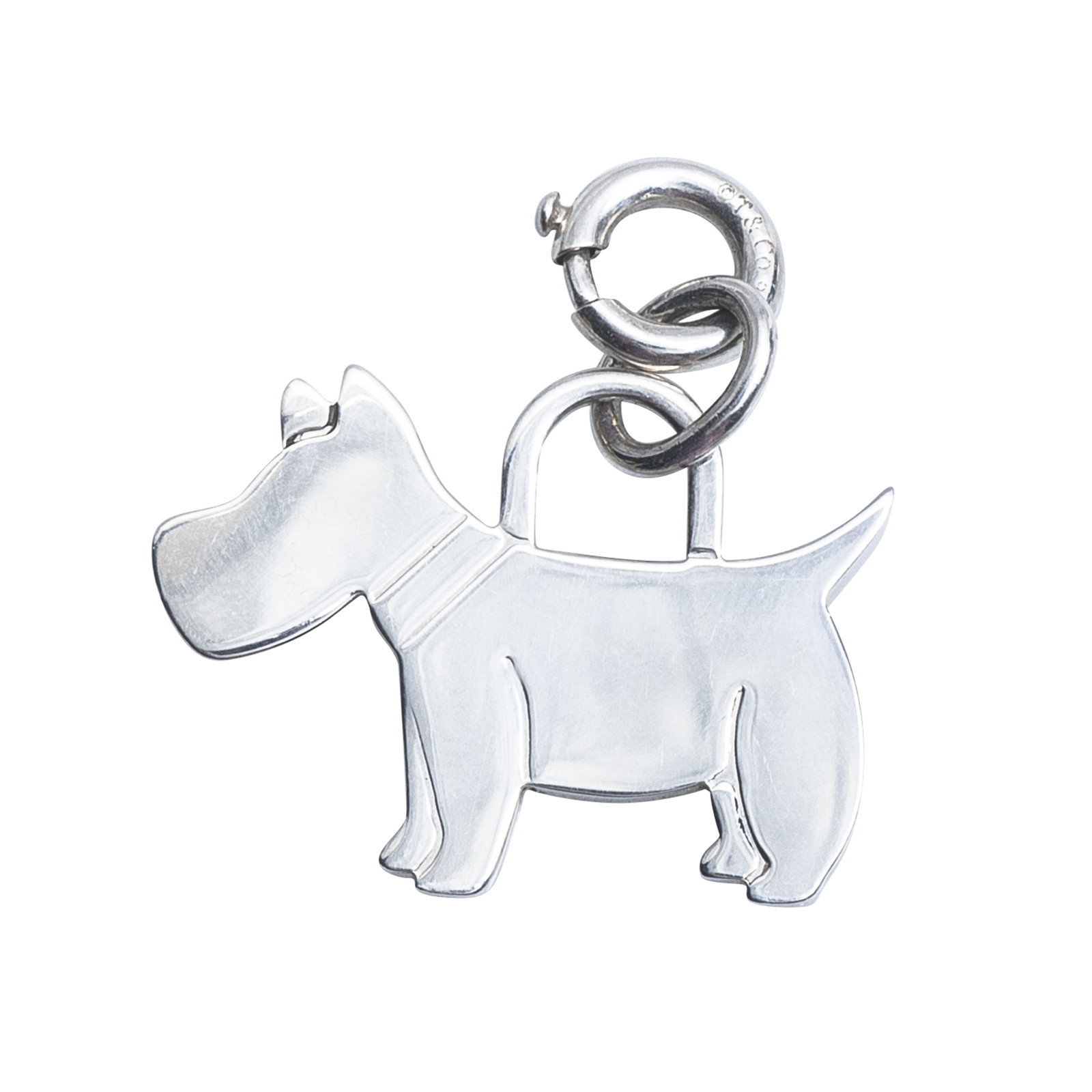 Vintage Tiffany & Co. Scottie Dog Charm