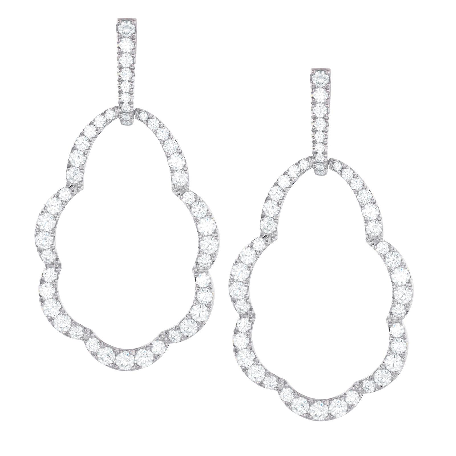 New Hearts On Fire® Lorelei Open Drop Diamond 3.44 CTW Earrings