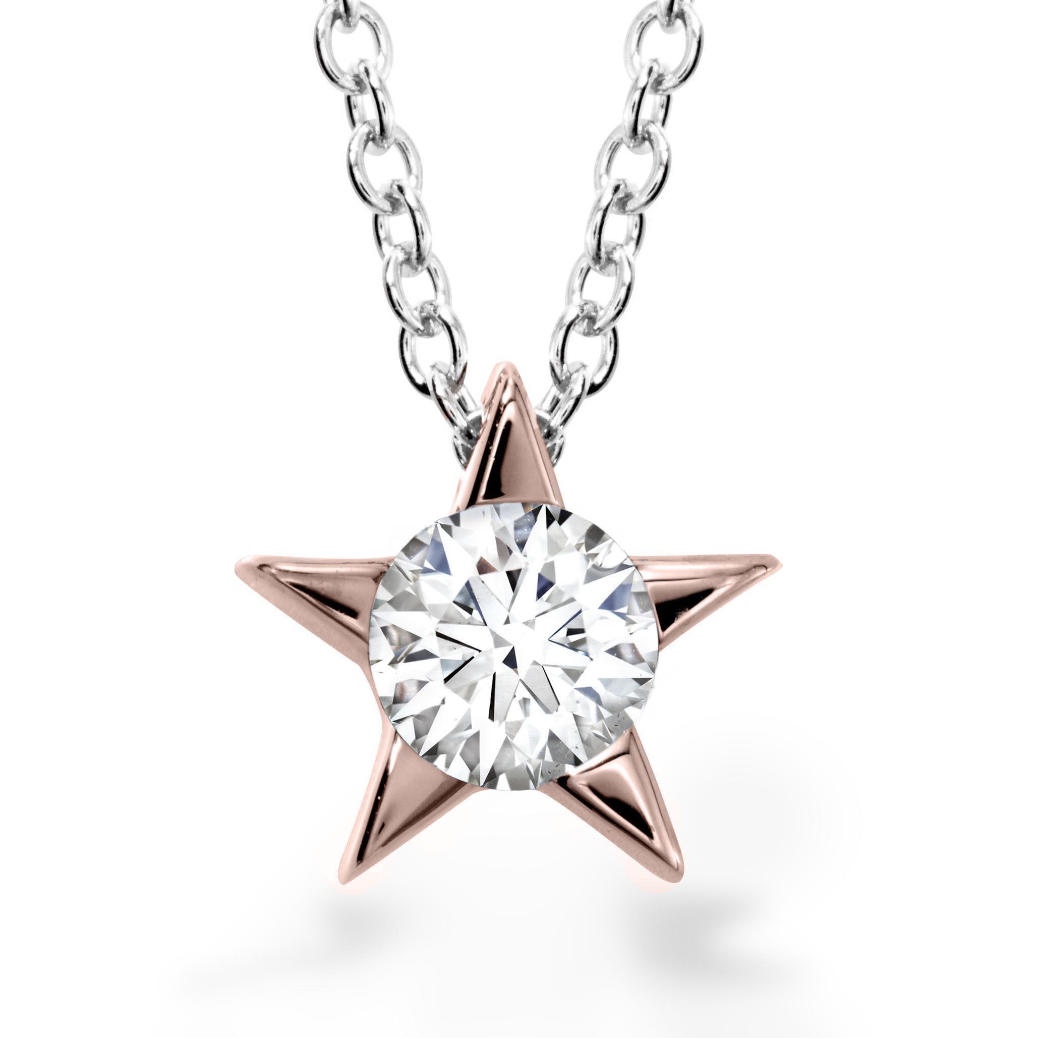 New Hearts On Fire® 0.25 CT Diamond Illa Pendant