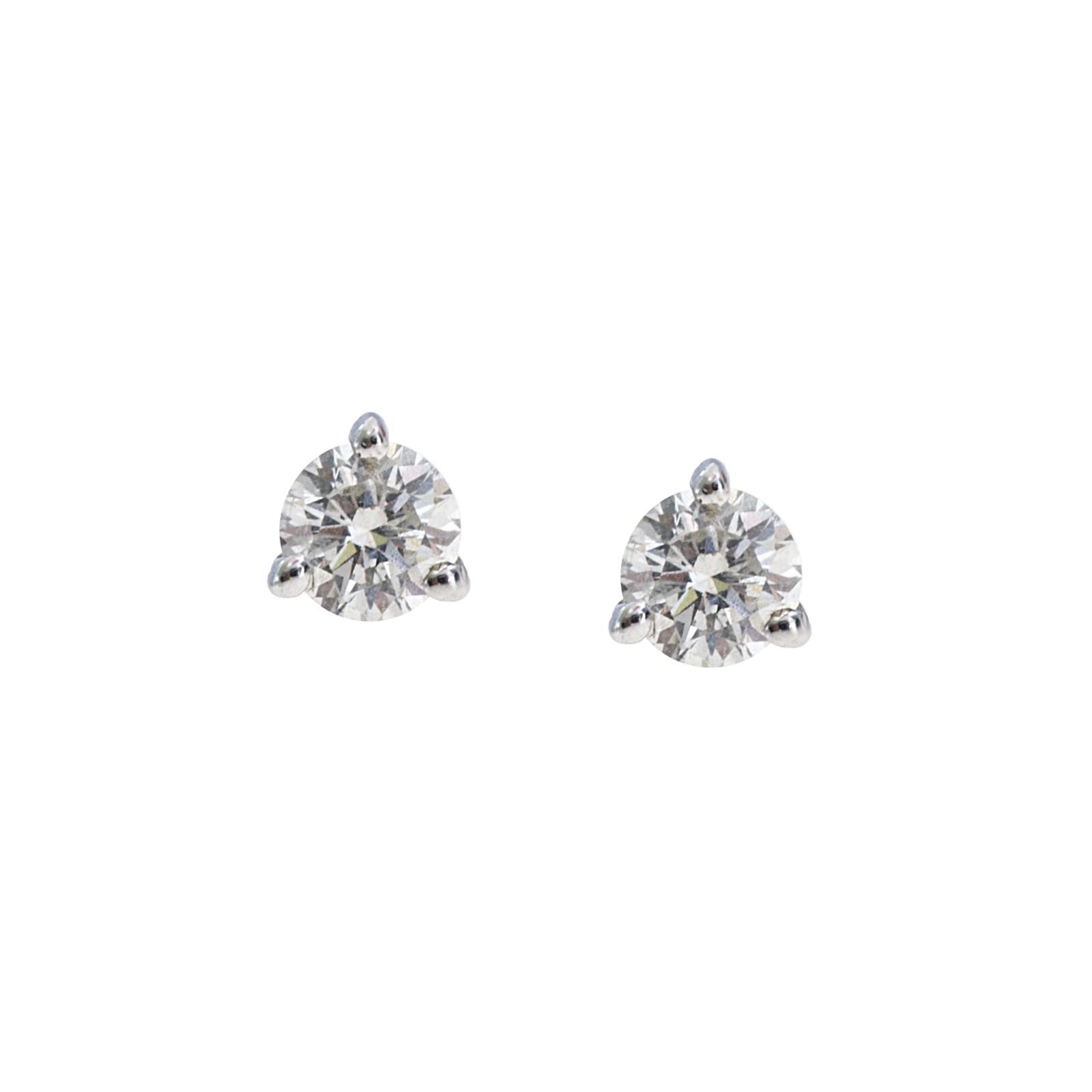 New 0.25 CTW Diamond Stud Earrings