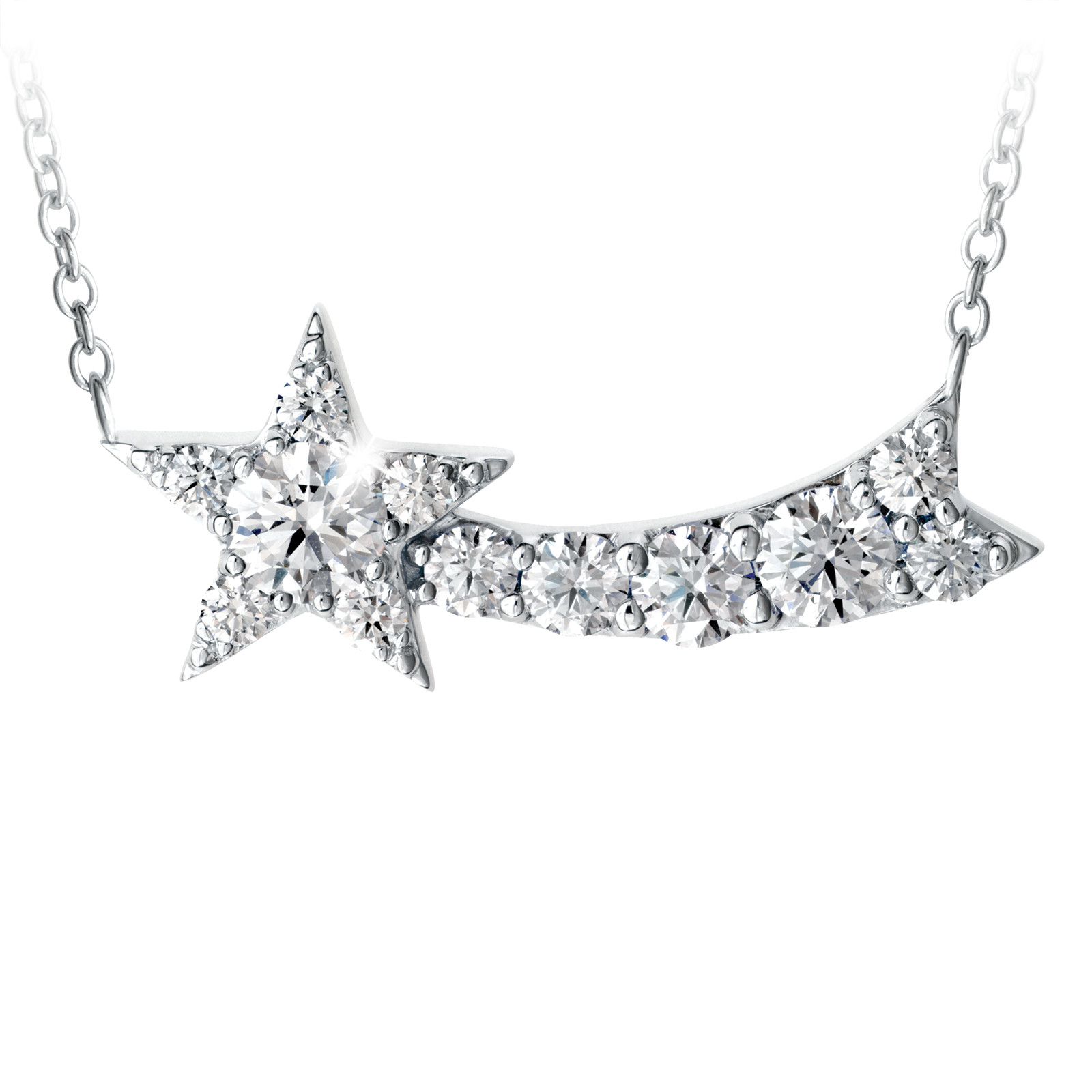 New Hearts On Fire® 0.85 CTW Diamond Illa Comet Pendant