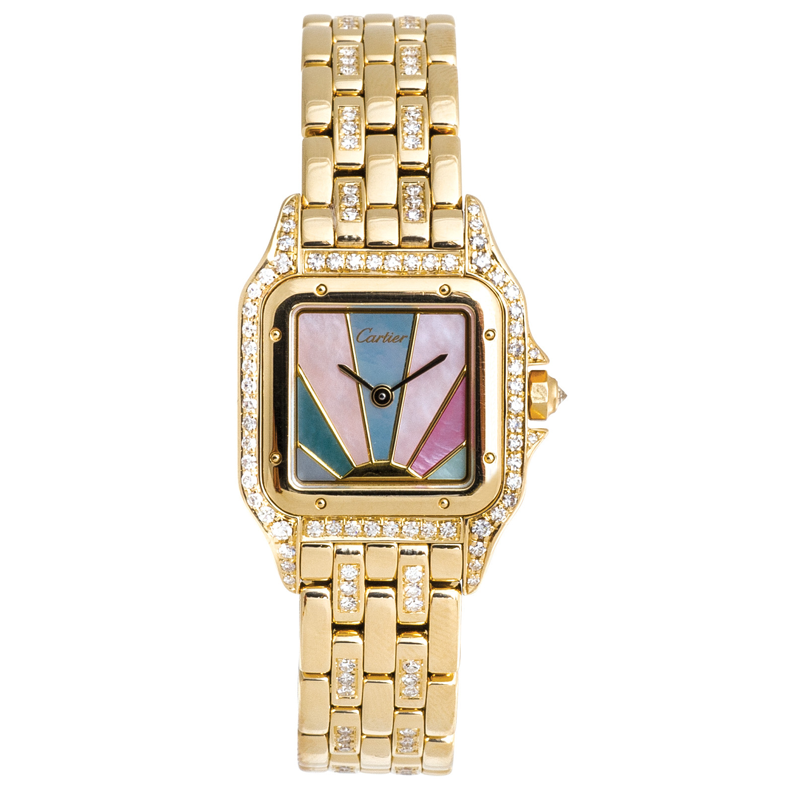 Pre-Owned Women's Cartier Panthere with Diamond Bezel