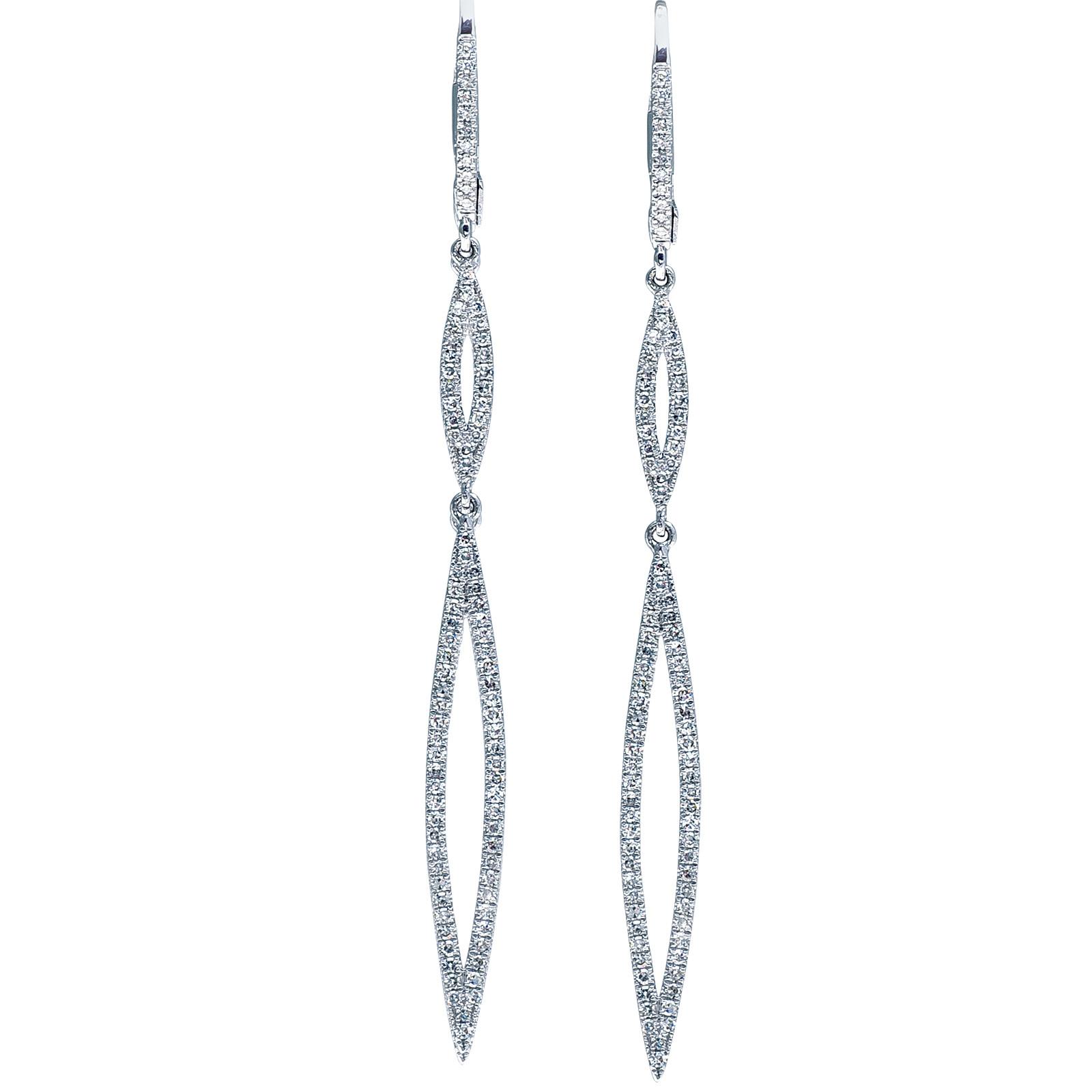 New Venetti 0.50 CTW Diamond Earrings
