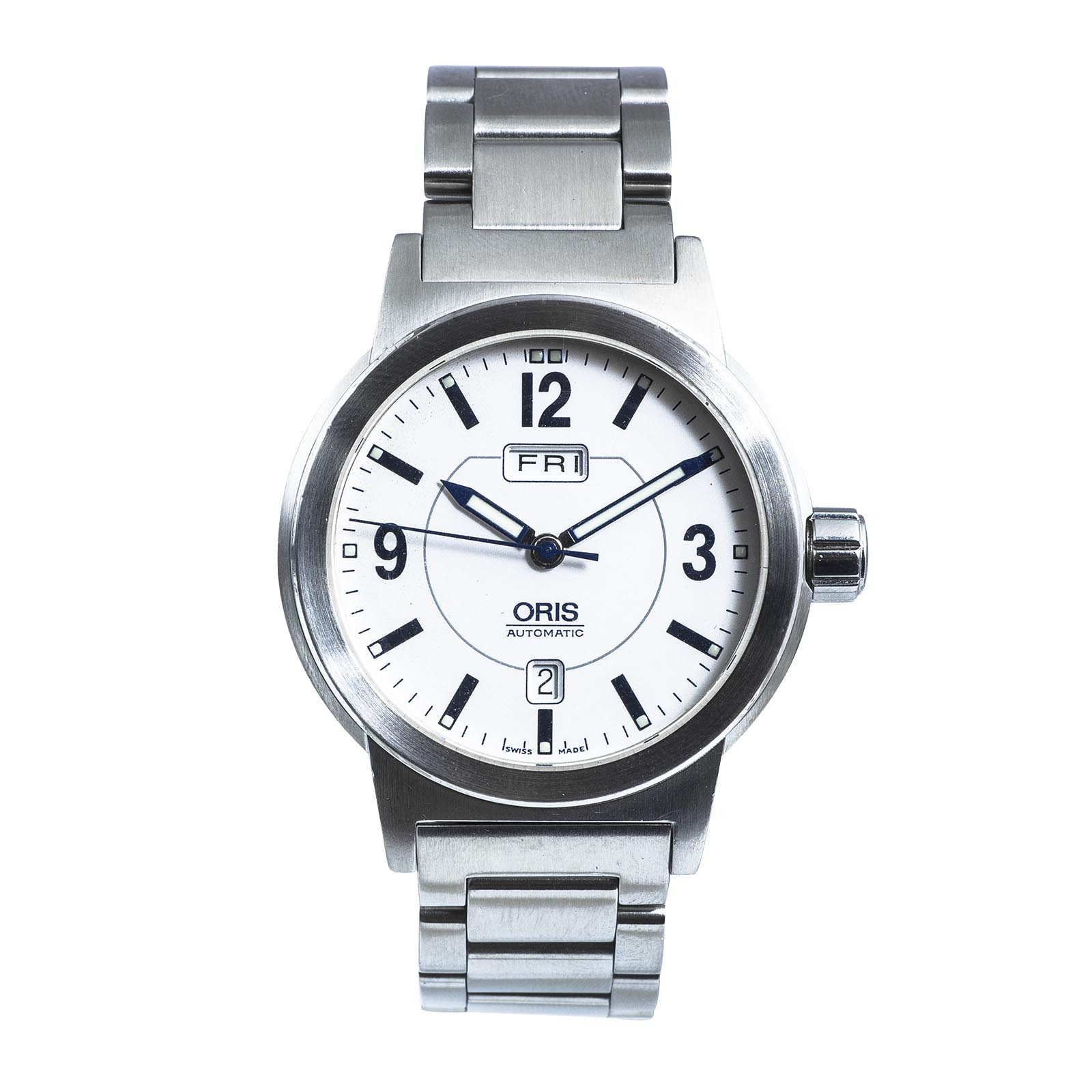 Pre-Owned Oris BC3 Day Date