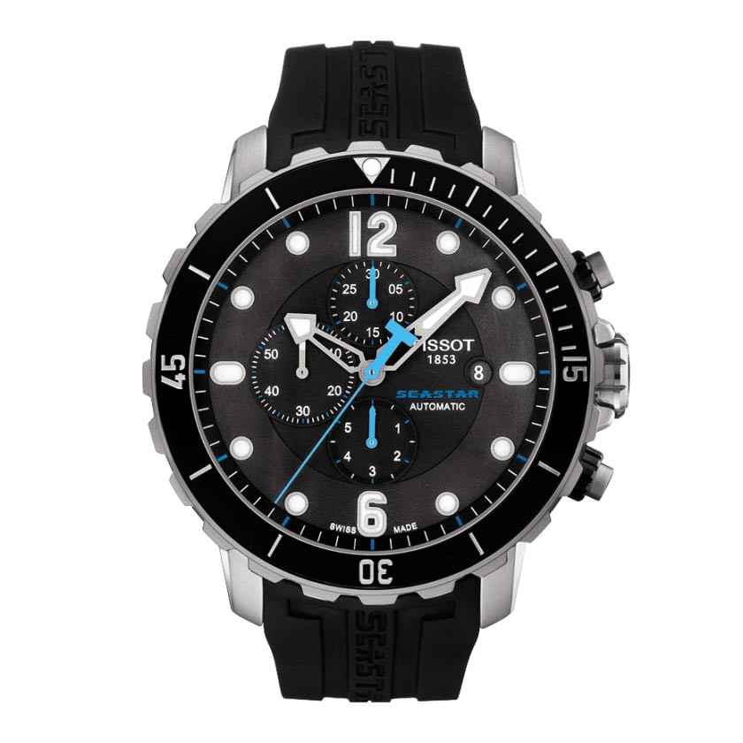 New Men's Tissot Seastar Chronograph