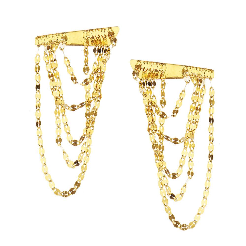 New Lana Small Draping Earrings