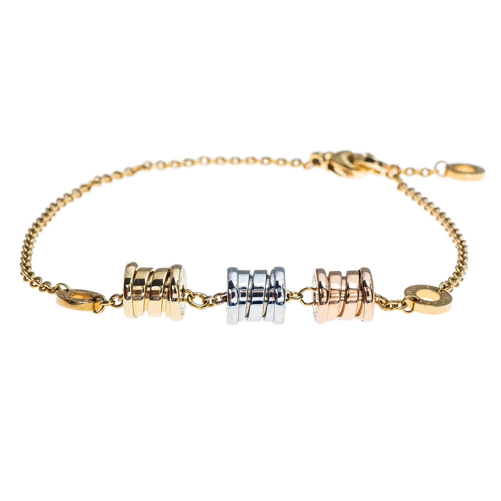 Vintage Bulgari Three Element Bracelet