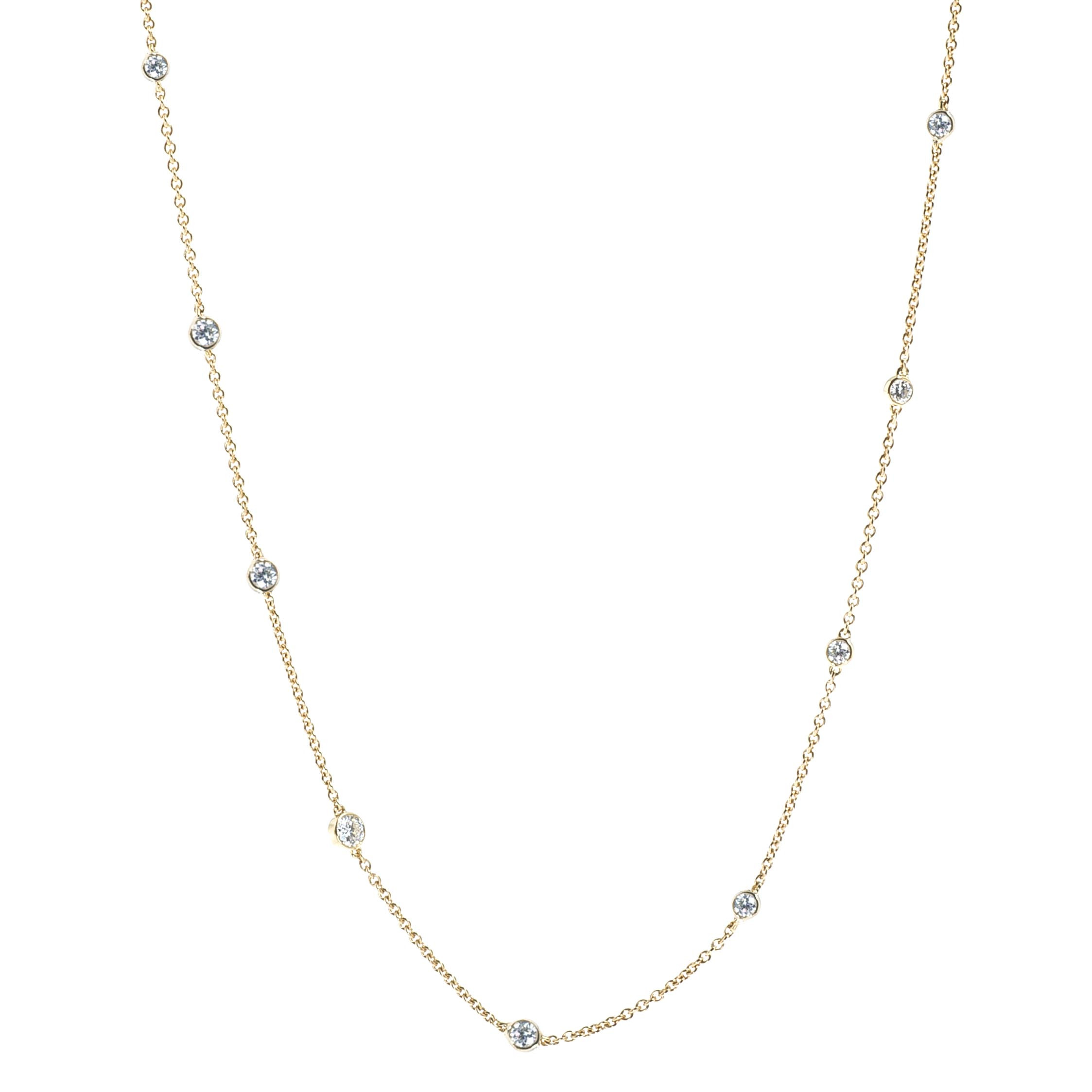 New Mémoire® 0.50 CTW Diamond Pebbles Necklace