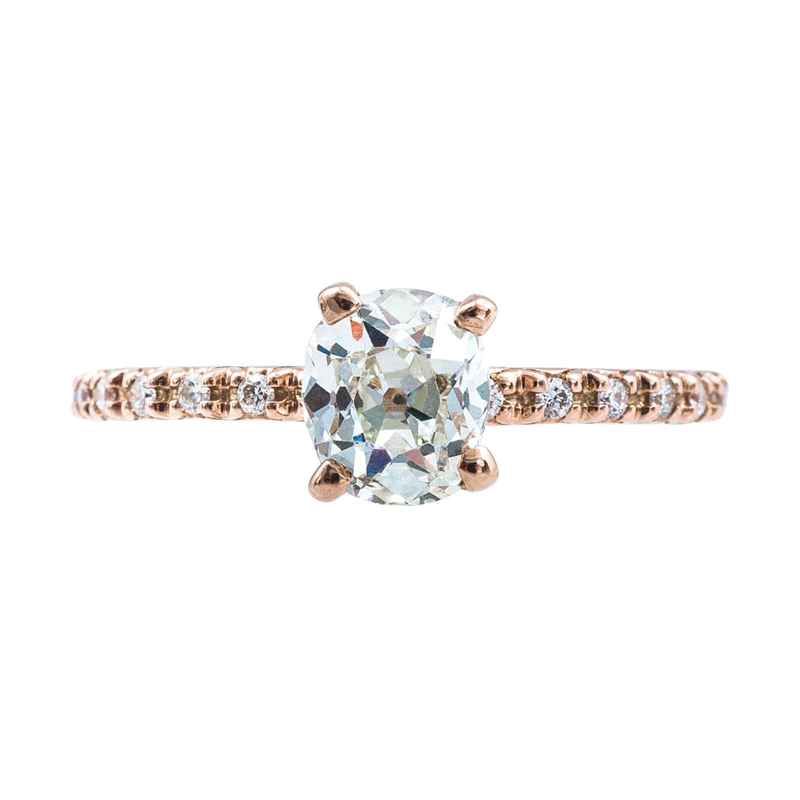 Vintage 1.05 CTW Engagement Ring