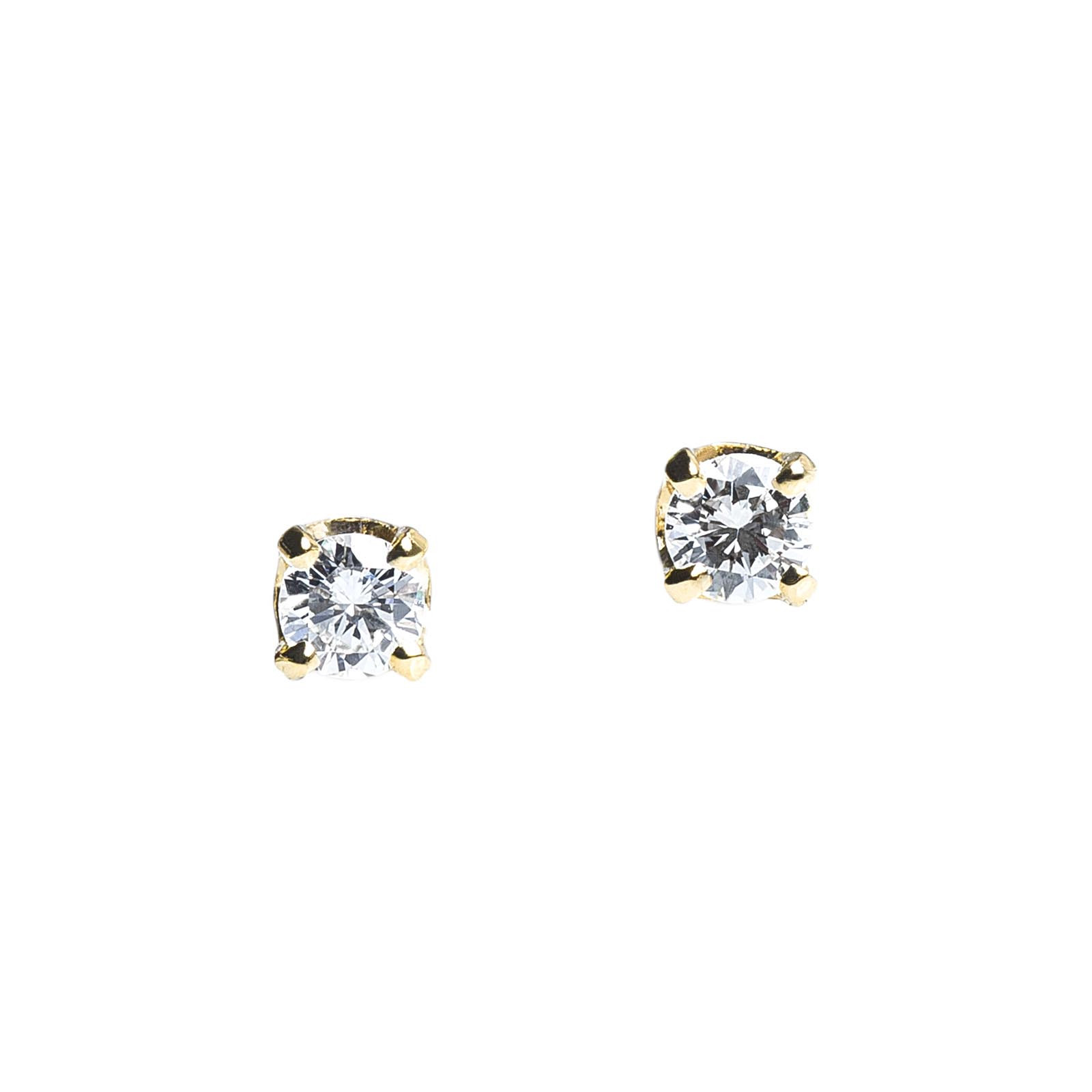 Vintage 0.20 CTW Diamond Stud Earrings