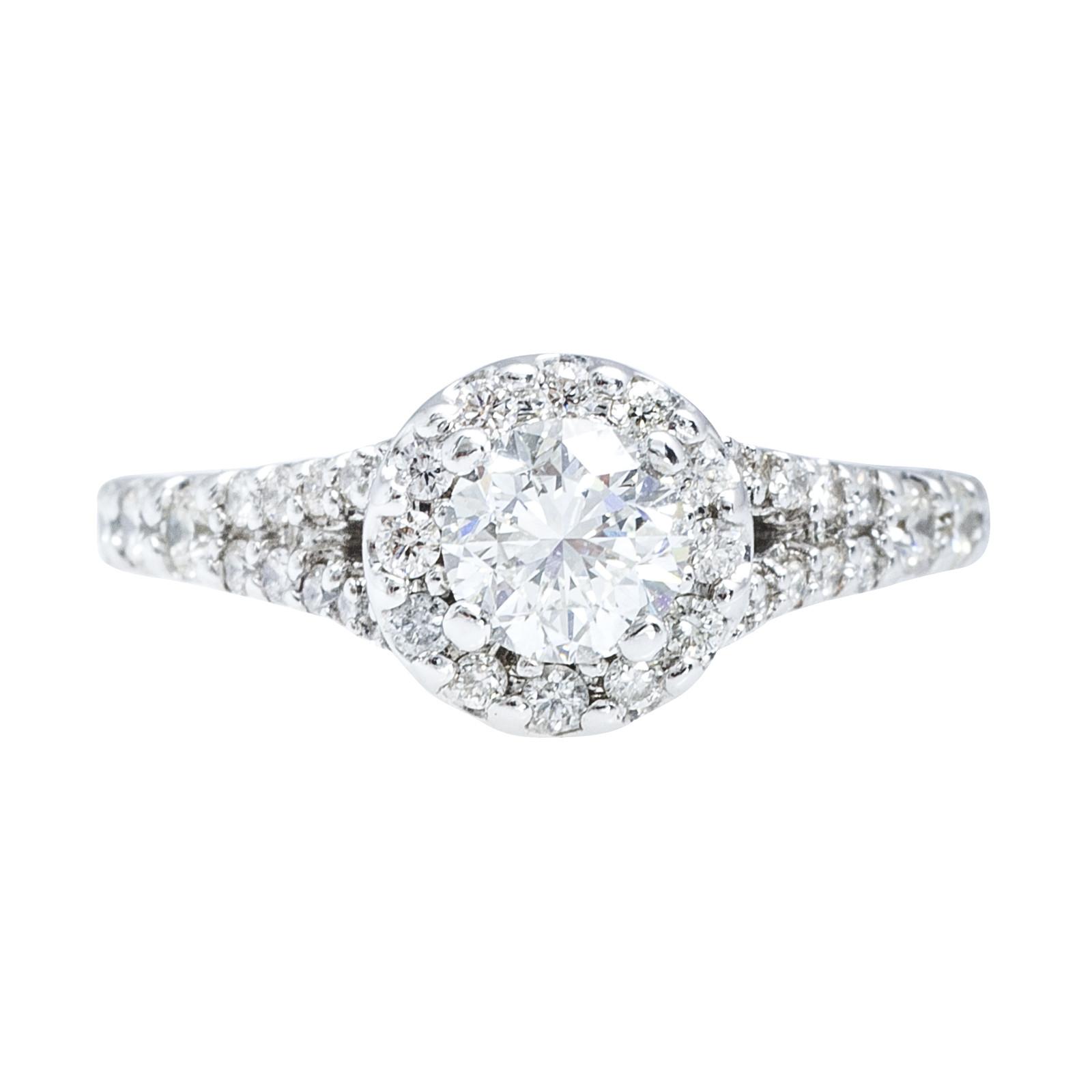 Vintage 1.04 CTW Diamond Engagement Ring