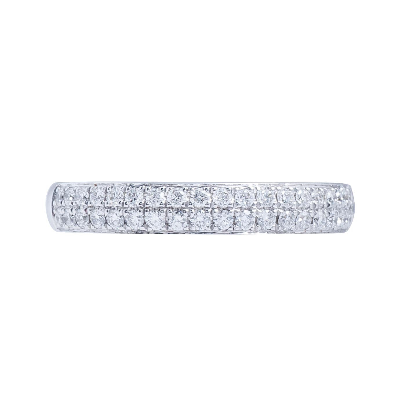 New Mémoire® 0.33 CTW Diamond Bouquets Band