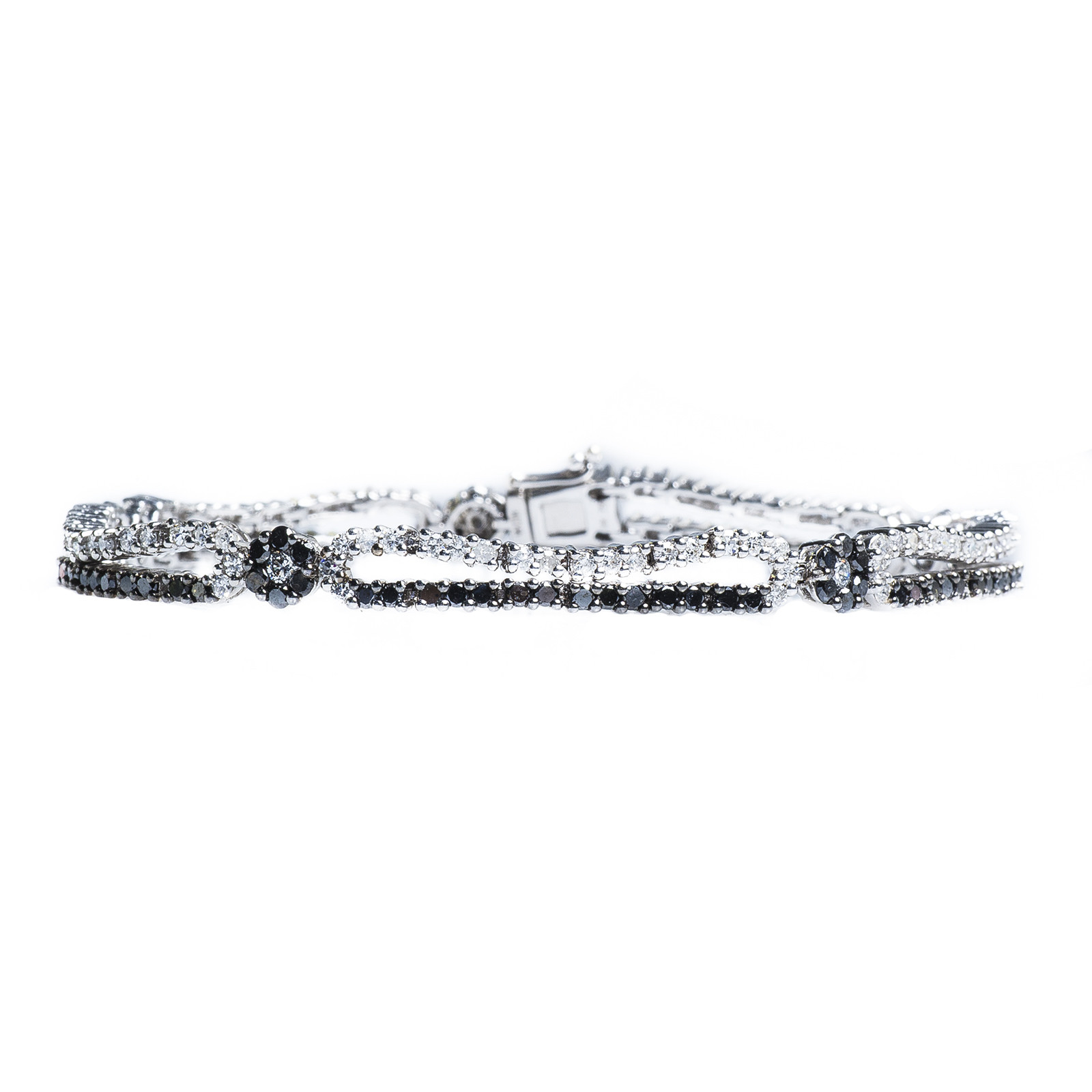 New 4.82 CTW White & Diamond Tennis Bracelet