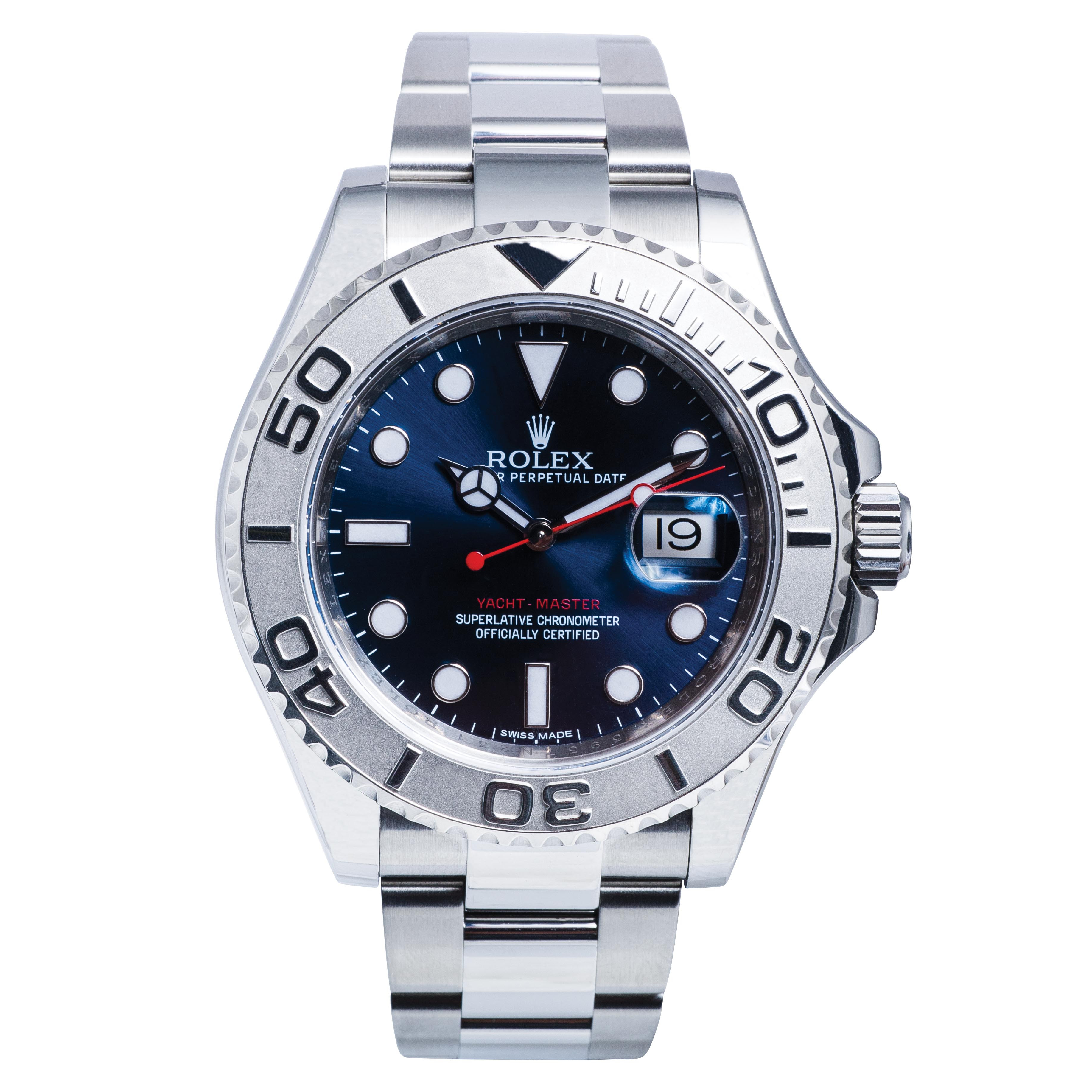 Pre-Owned Men's Rolex Yacht-Master