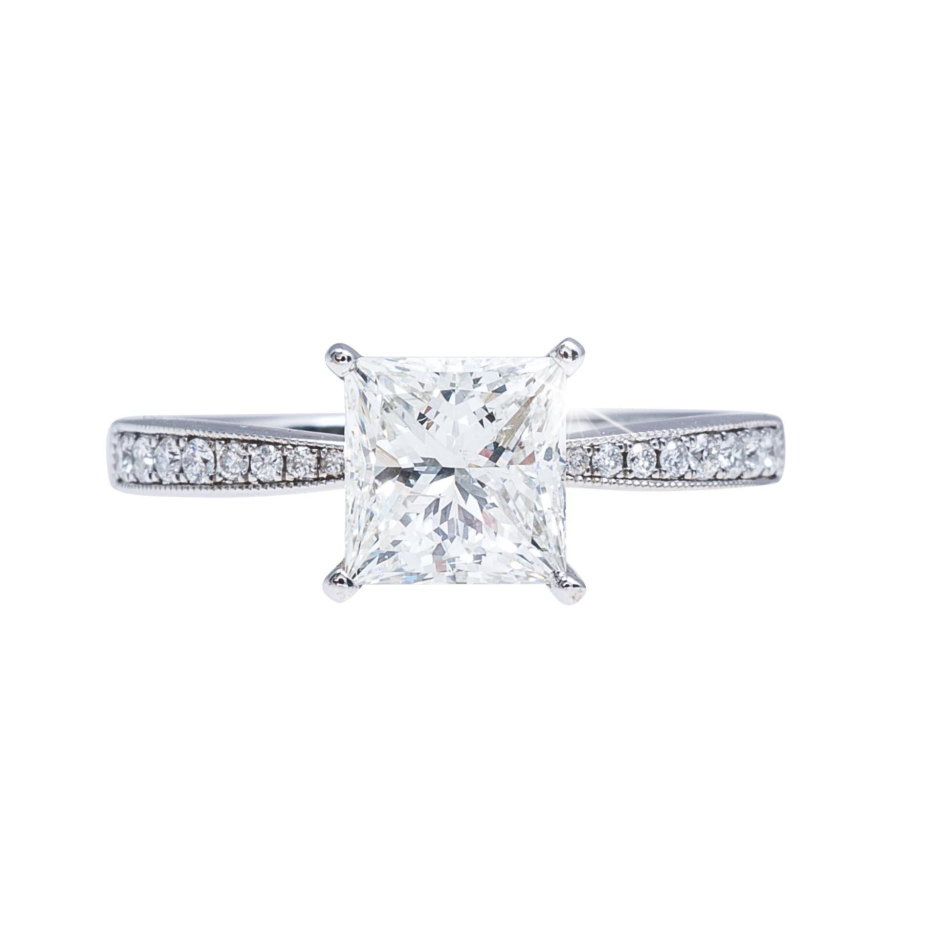 Vintage Venetti 1.99 CTW Diamond Engagement Ring
