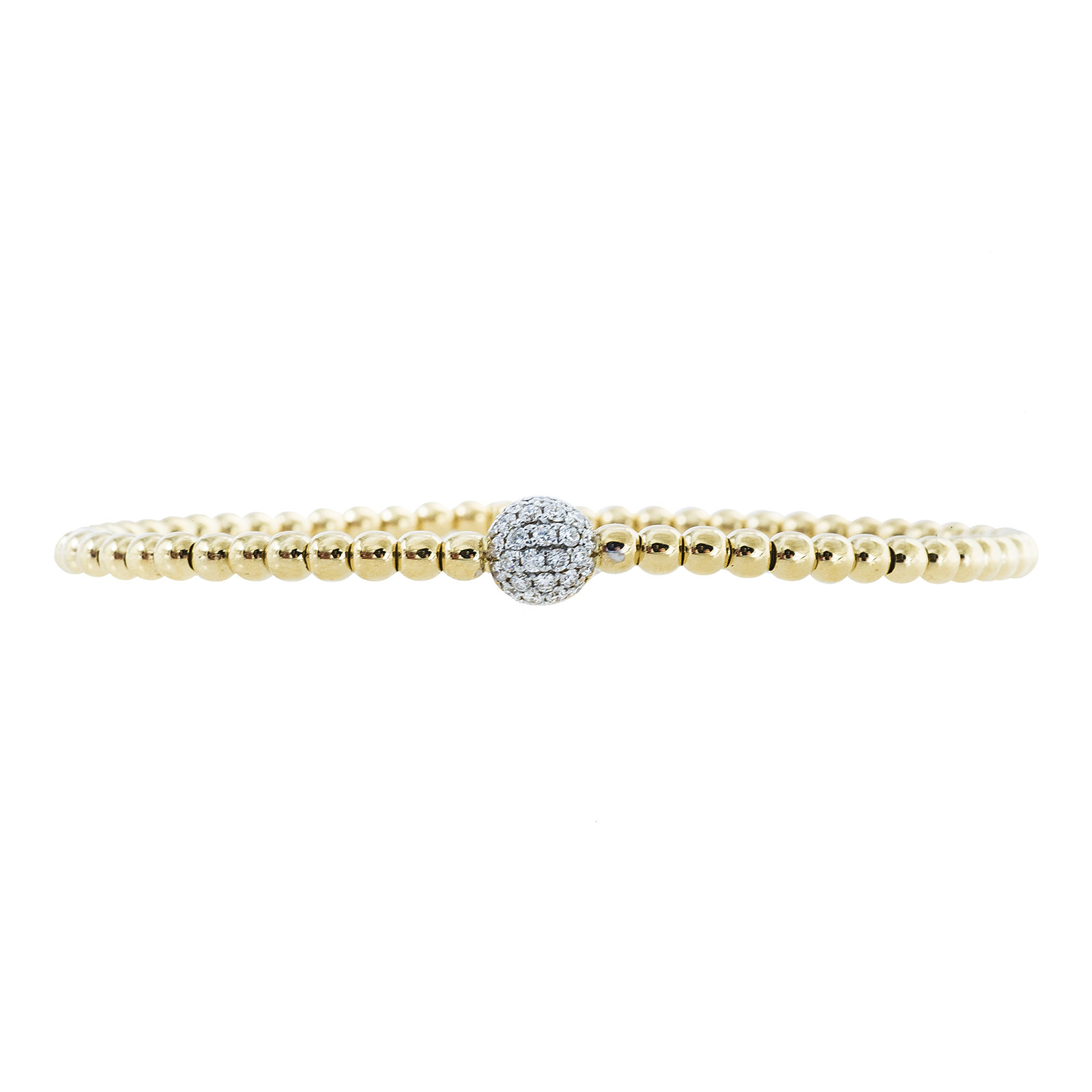 New Hulchi Belluni 0.32 CTW Pavé Diamond Bracelet