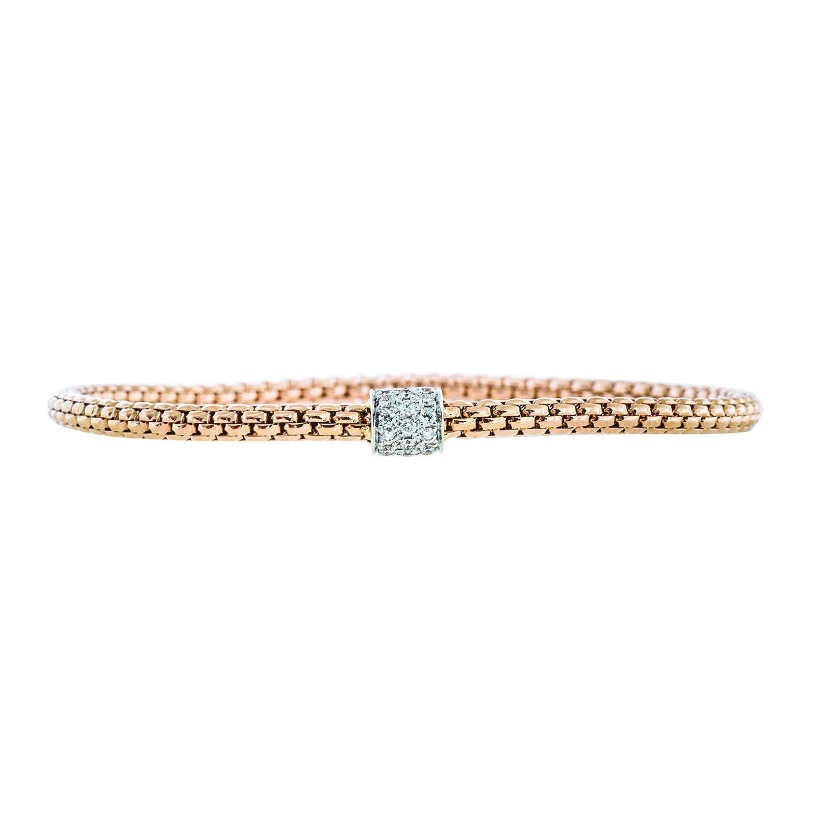 New Hulchi Belluni 0.23 CTW Pavé Diamond Bracelet