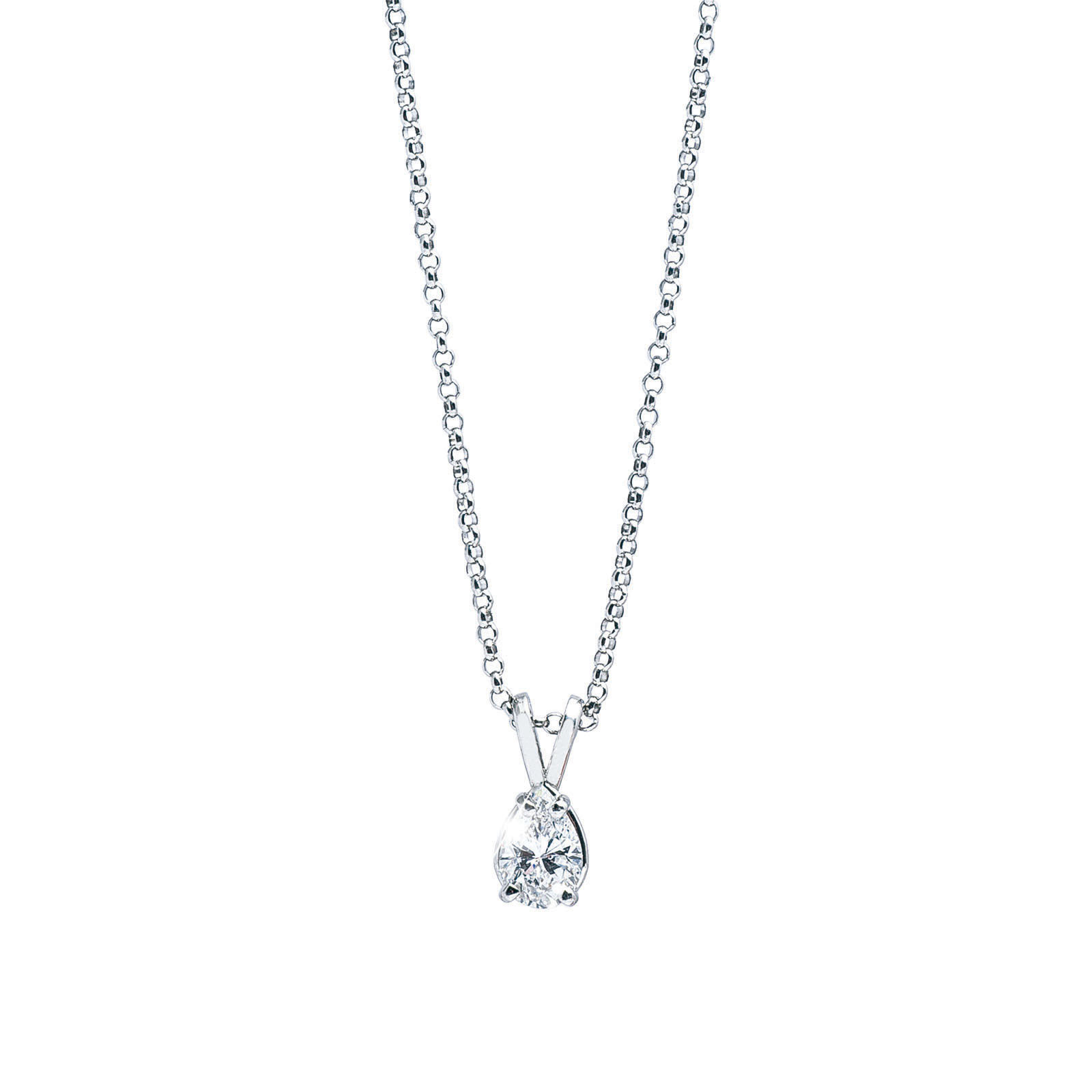 Vintage 0.57 CT Diamond Necklace