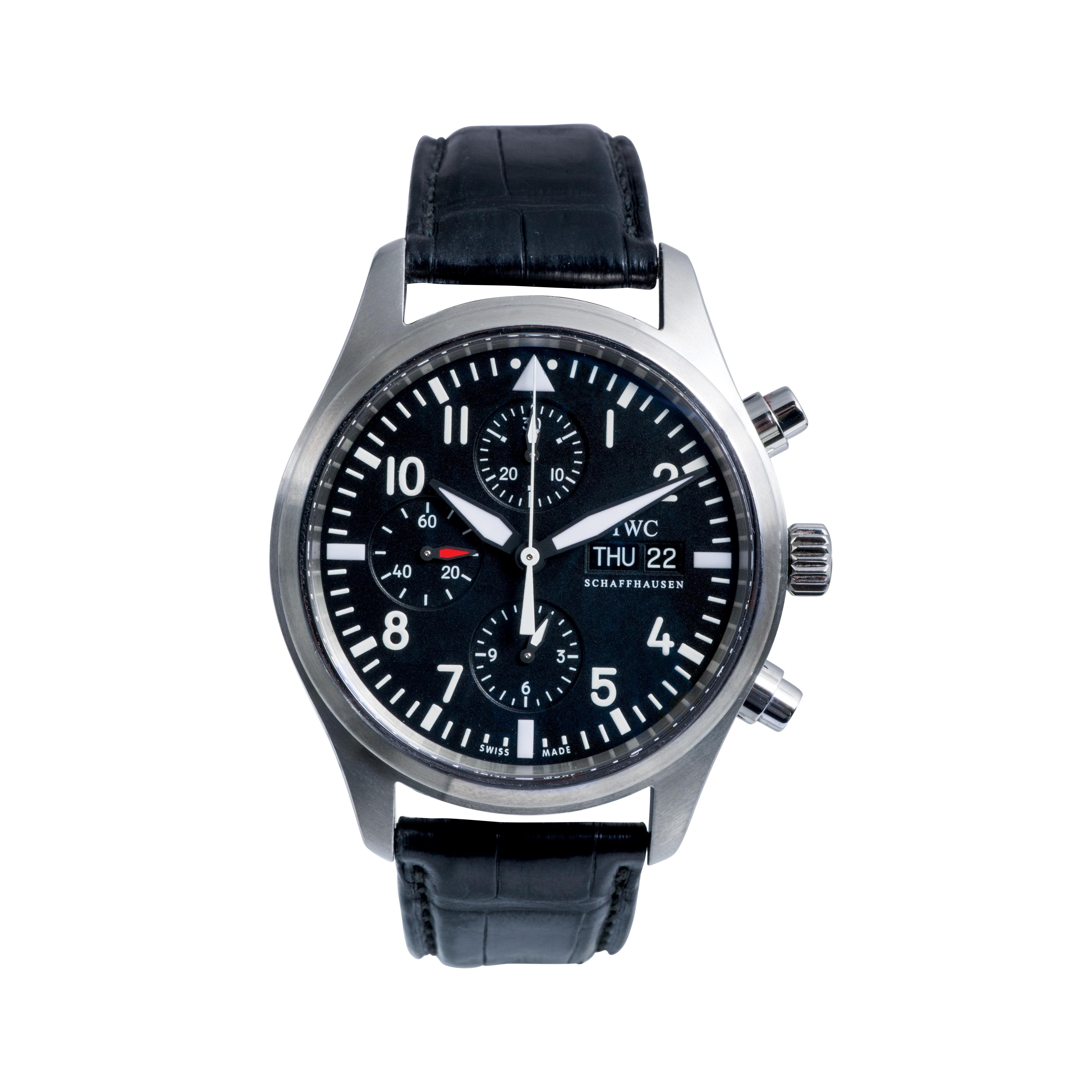 Pre-Owned IWC Classic Pilot's Flieger Chronograph