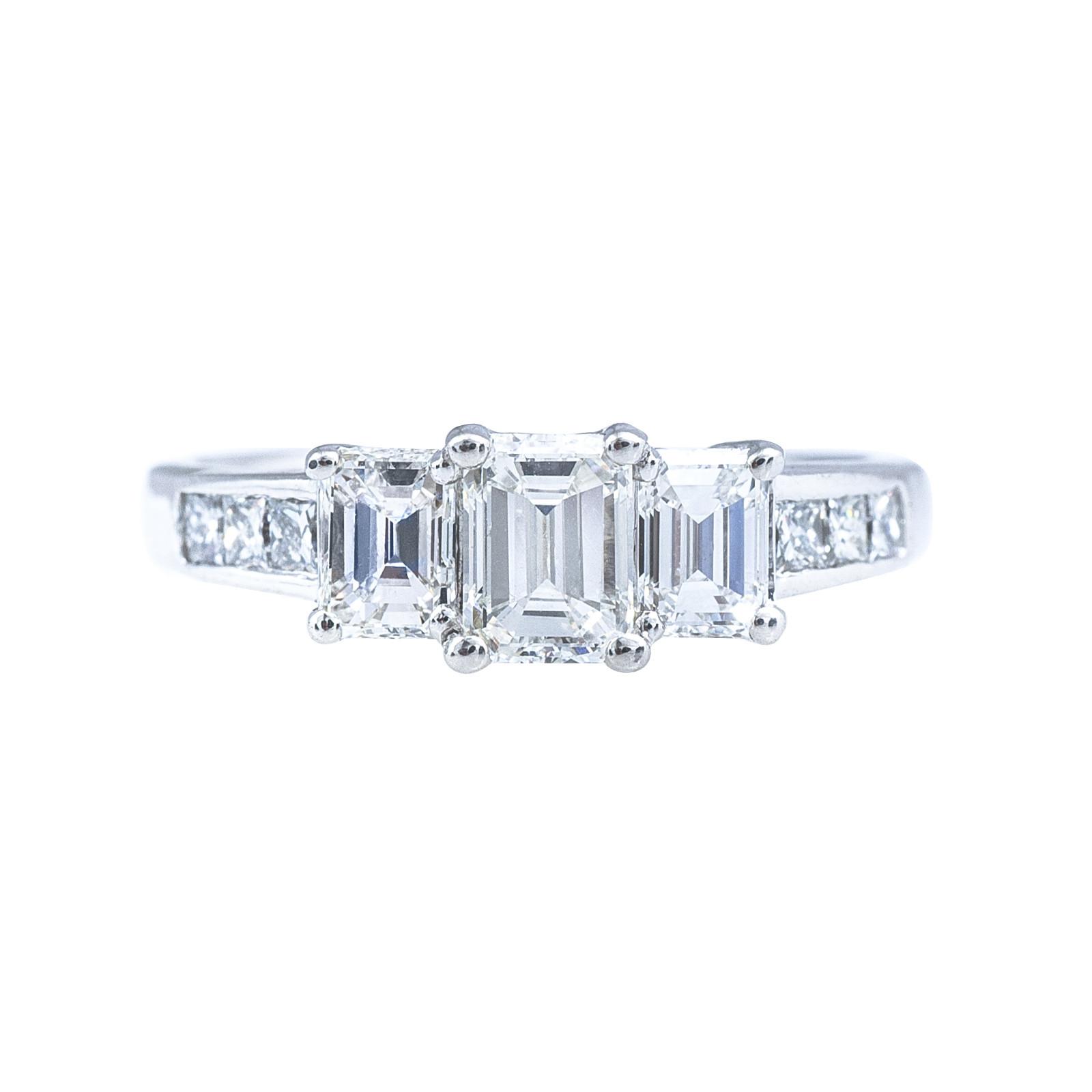 Vintage 1.52 CTW Diamond Engagement Ring