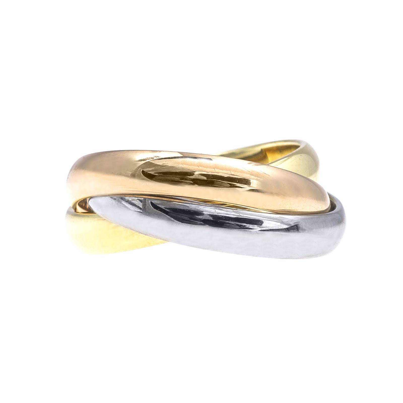 Vintage Cartier Trinity de Cartier Rolling Ring