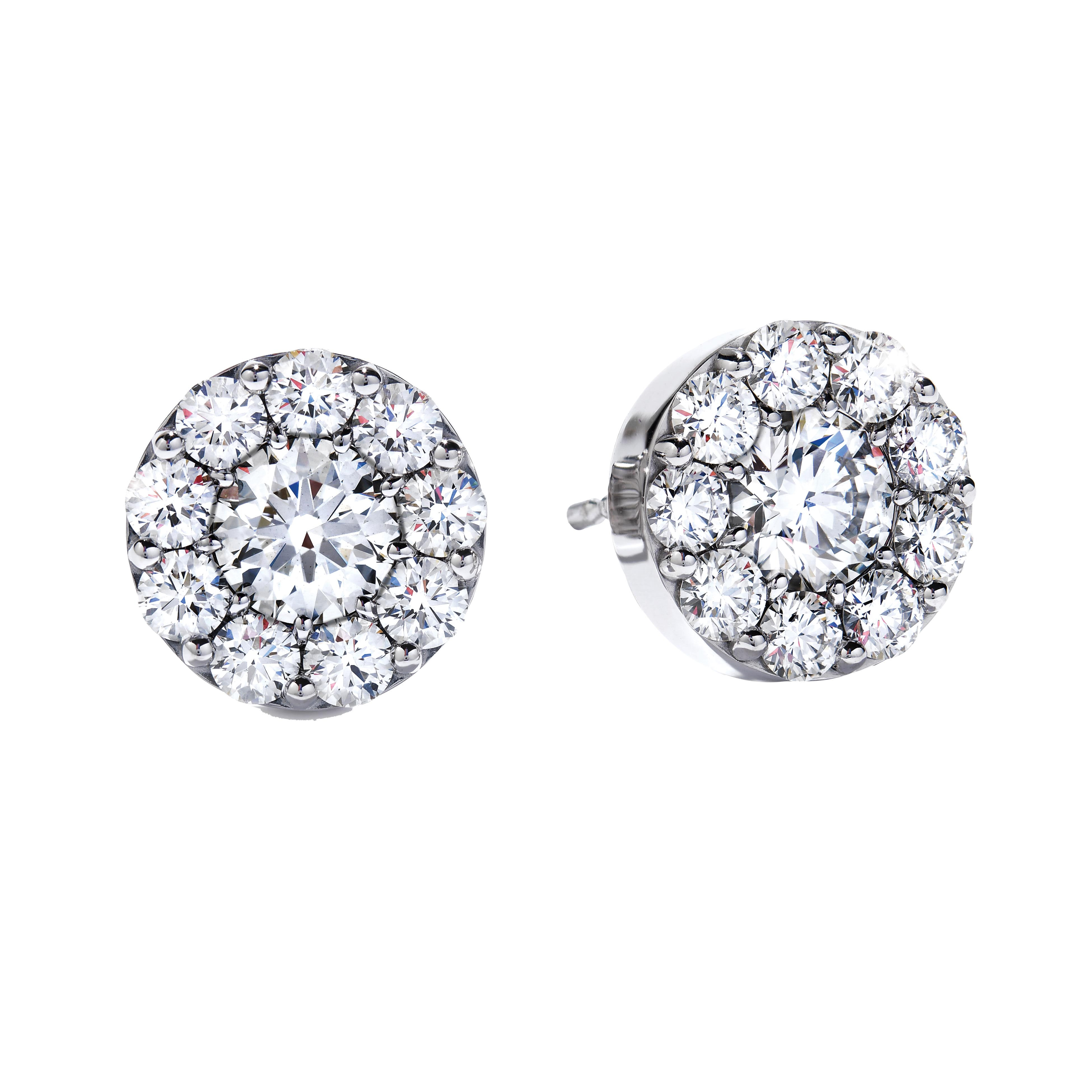 New Hearts On Fire® 0.48 CTW Diamond Fulfillment Round Stud Earrings