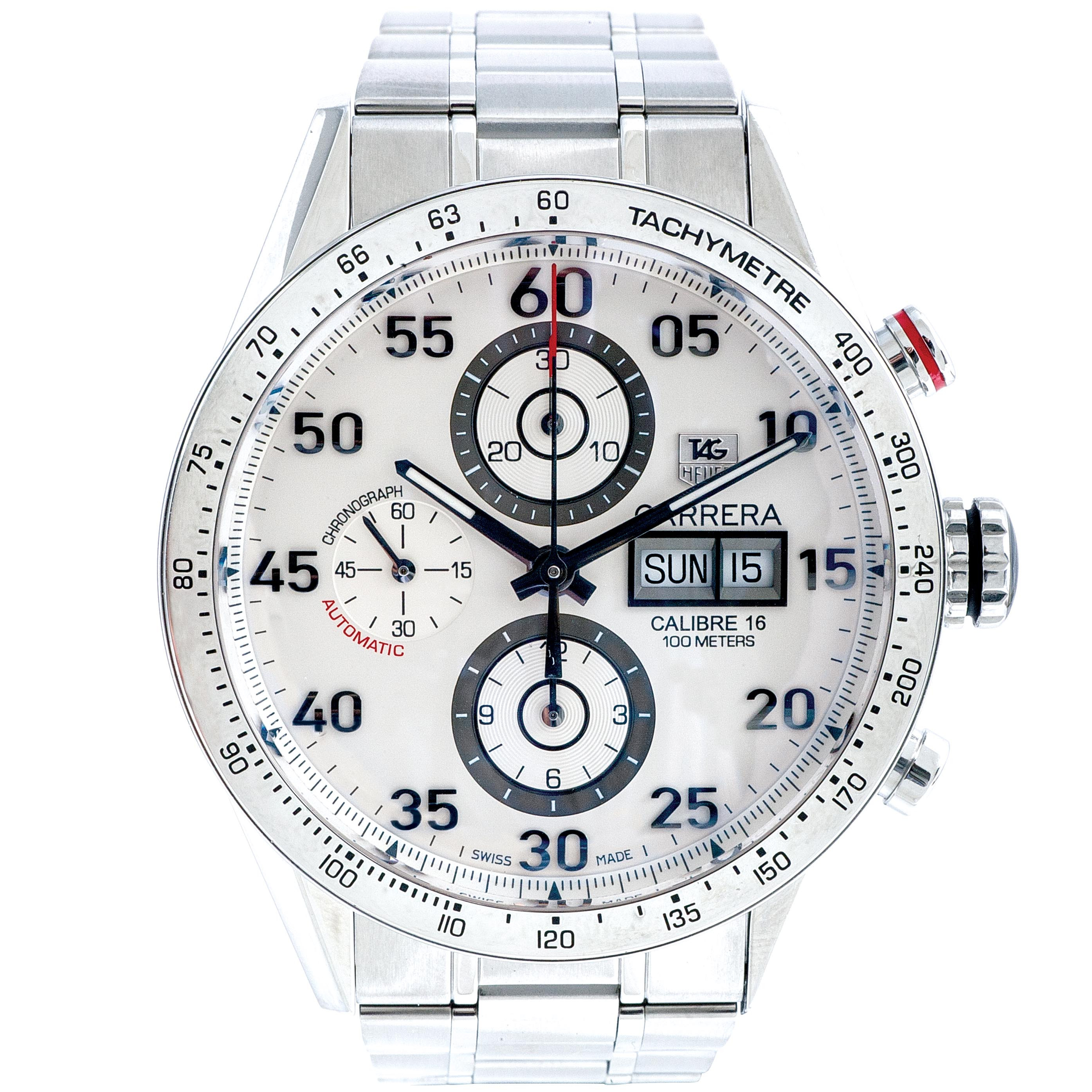 Pre-Owned Men's Tag Heuer Carrera Day-Date