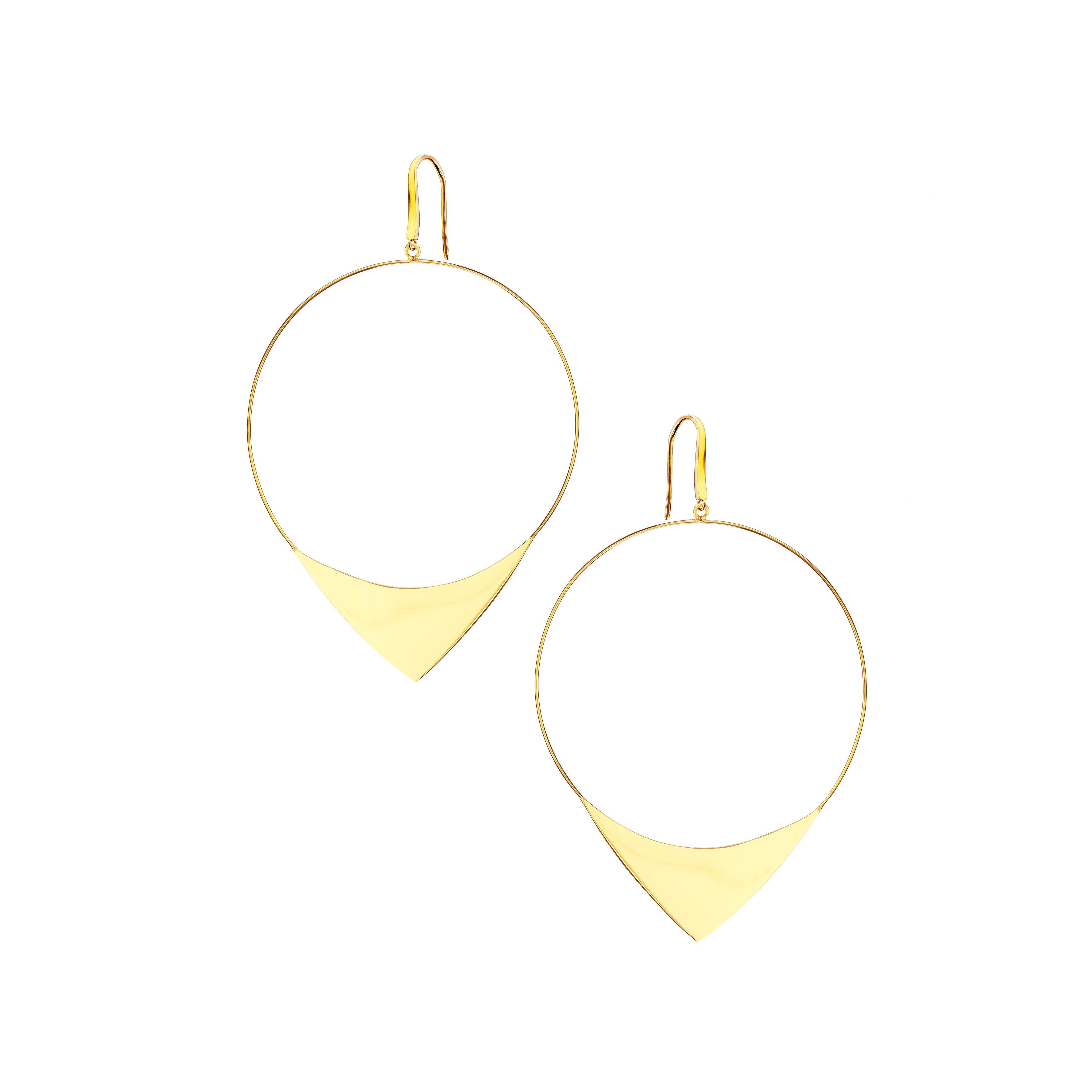 New Lana Jewelry Large Elite Hoop Earrings