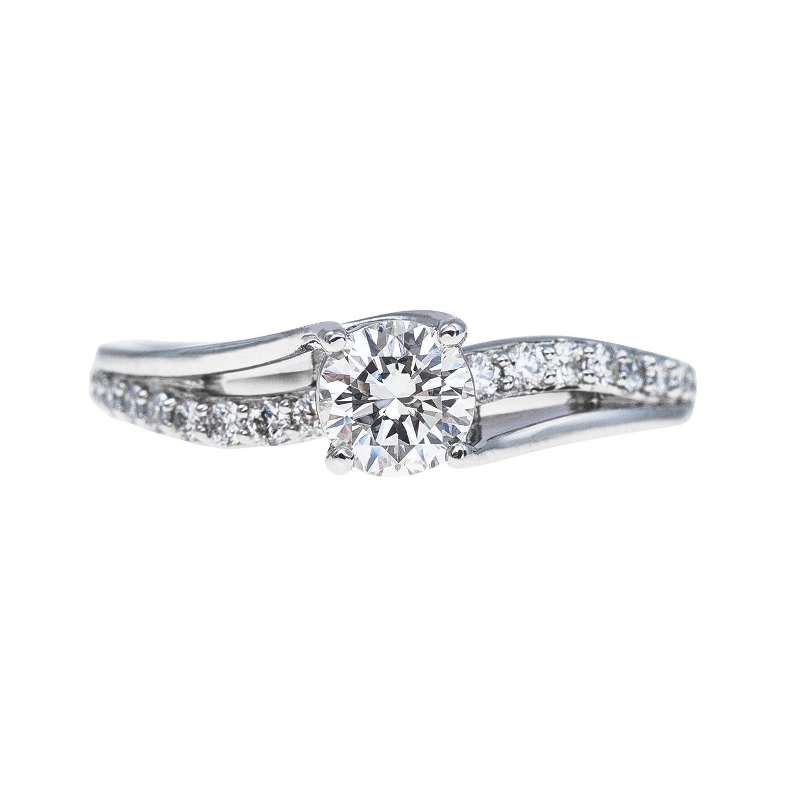 New 0.79 CTW Diamond Engagement Ring