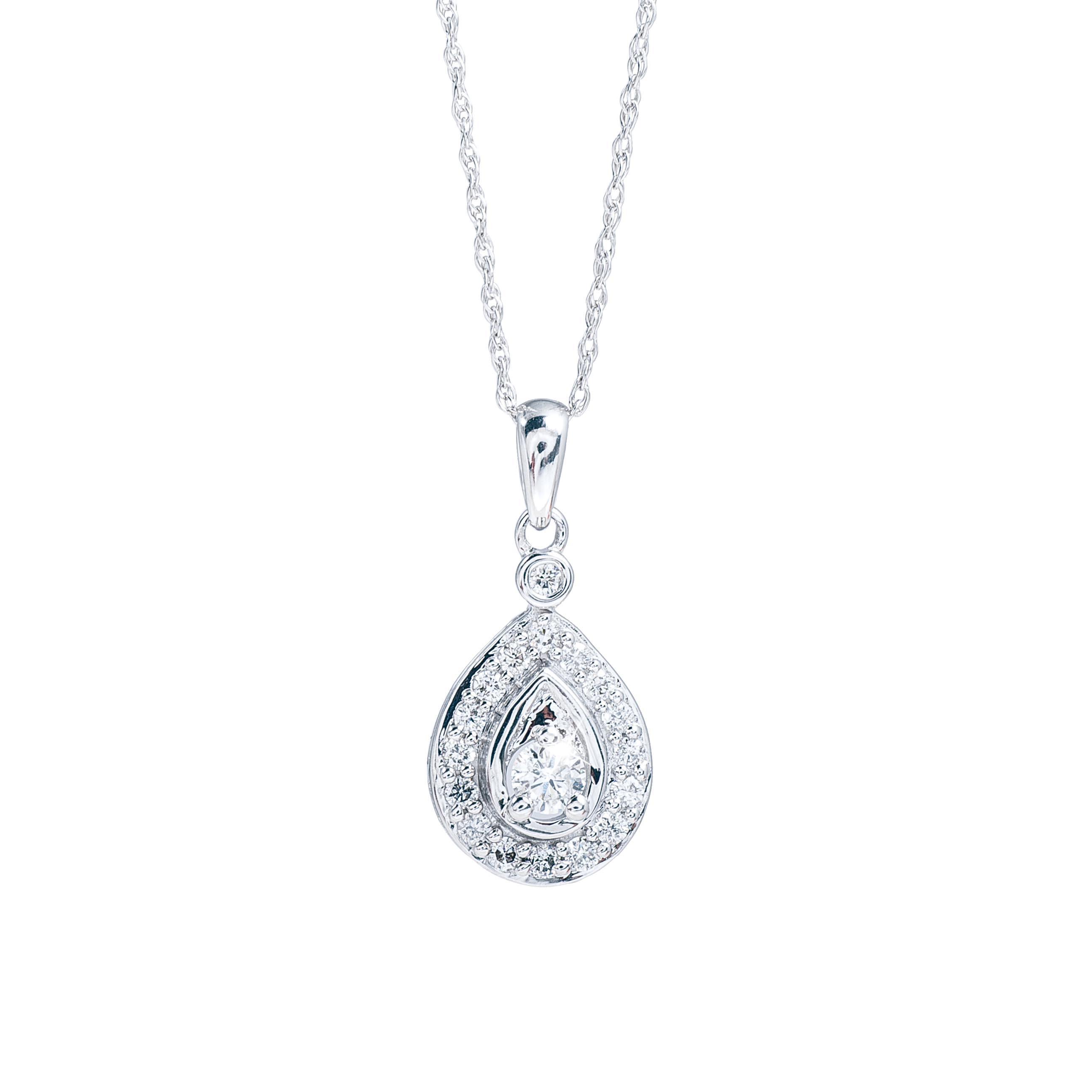 New 0.25 CTW Diamond Pendant